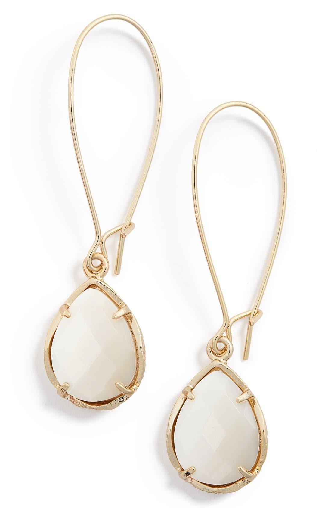 Alternate Image 1 Selected - Kendra Scott 'Dee' Teardrop Earrings