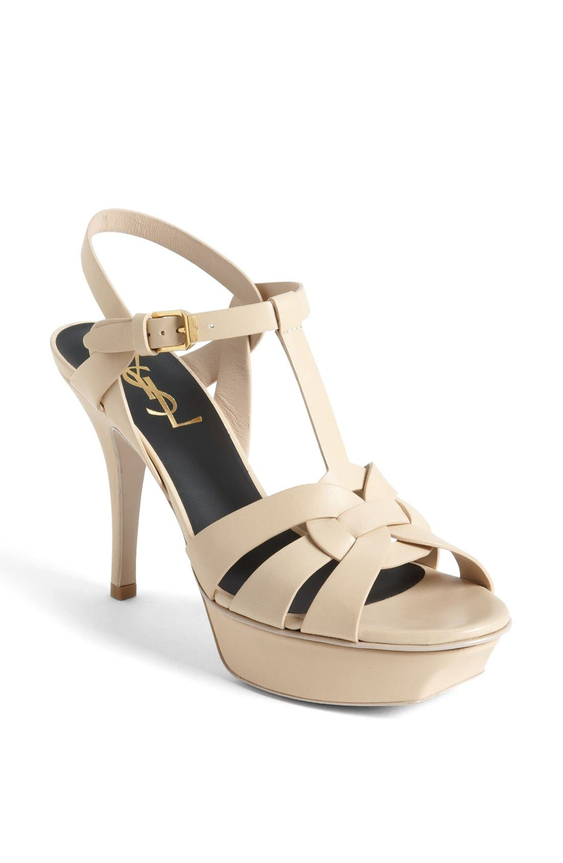 Alternate Image 1 Selected - Saint Laurent 'Tribute' Sandal (Women)