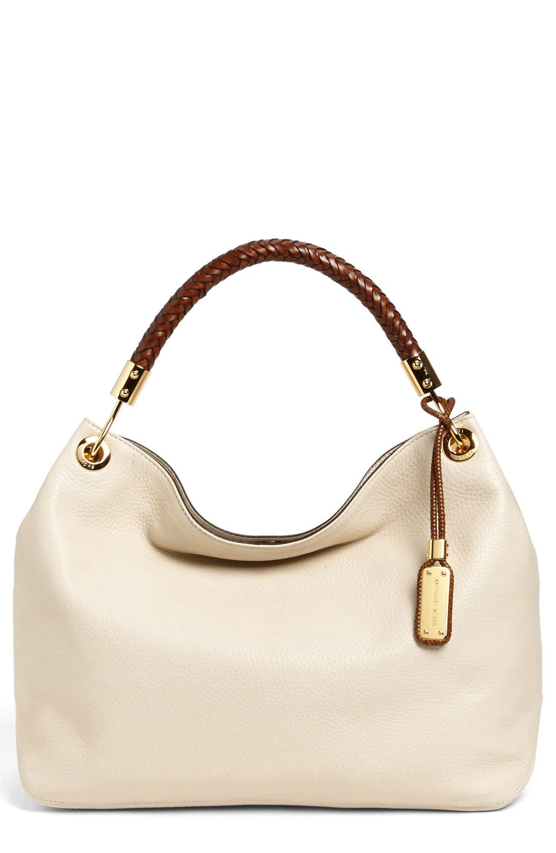 Alternate Image 1 Selected - Michael Kors 'Large Skorpios' Leather Shoulder Bag