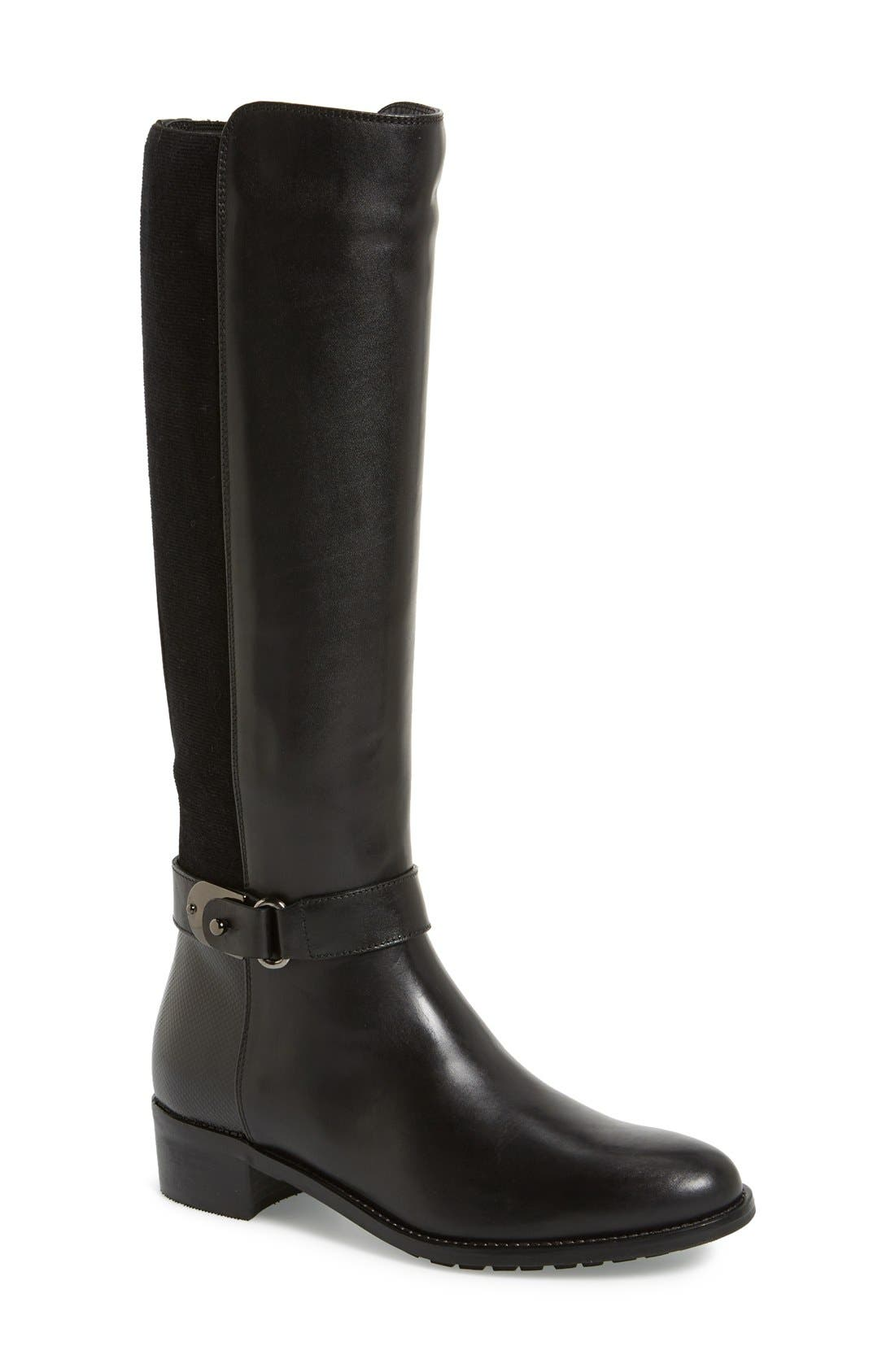 Main Image - Aquatalia 'Olita' Weatherproof Riding Boot (Women) (Nordstrom Exclusive)