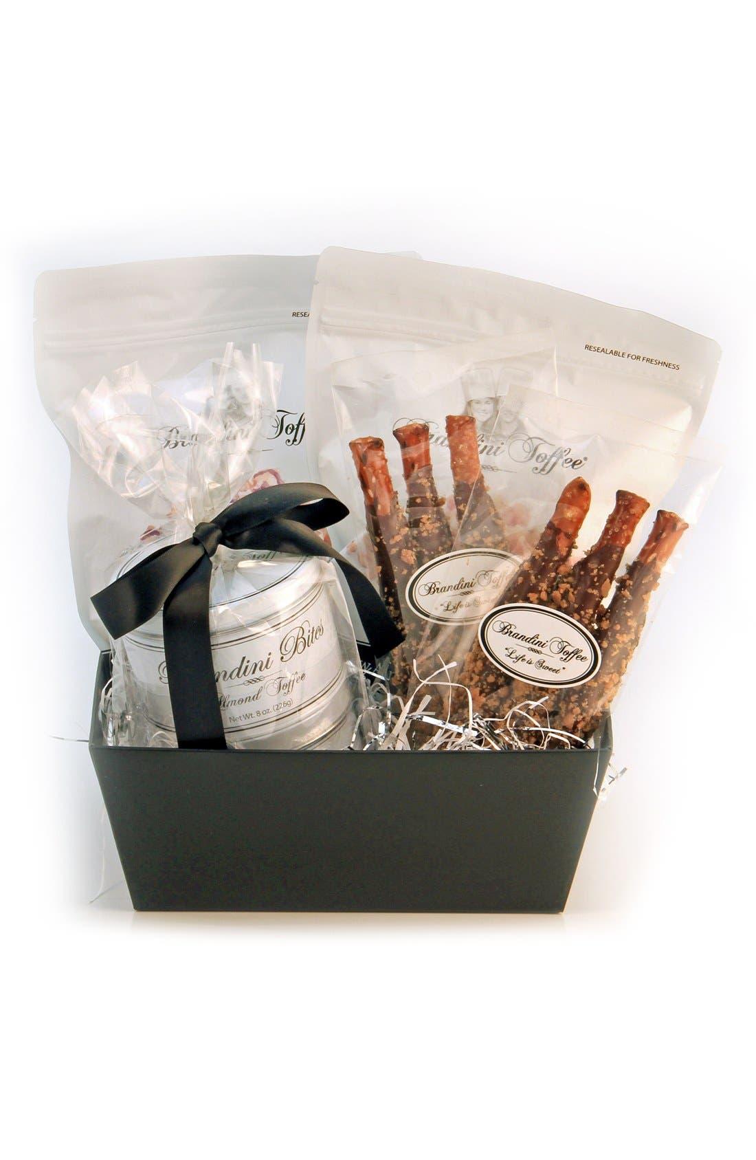 Brandini Toffee Medium Gift Basket