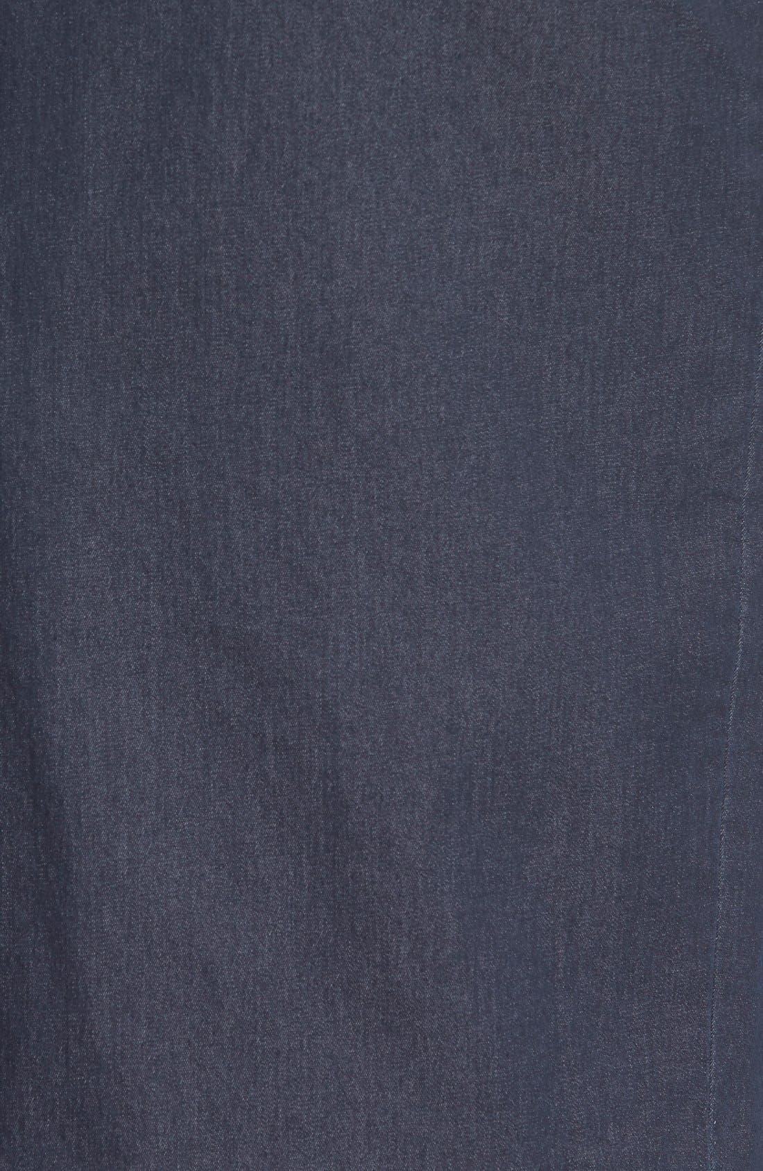 Alternate Image 4  - Halogen® Denim Midi Pencil Skirt