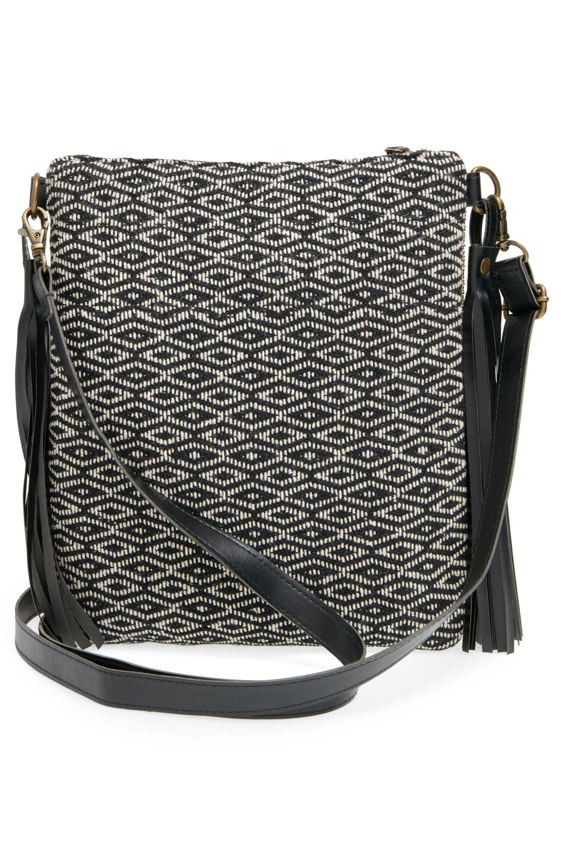 Alternate Image 3  - Big Buddha Geo Beaded Crossbody Bag