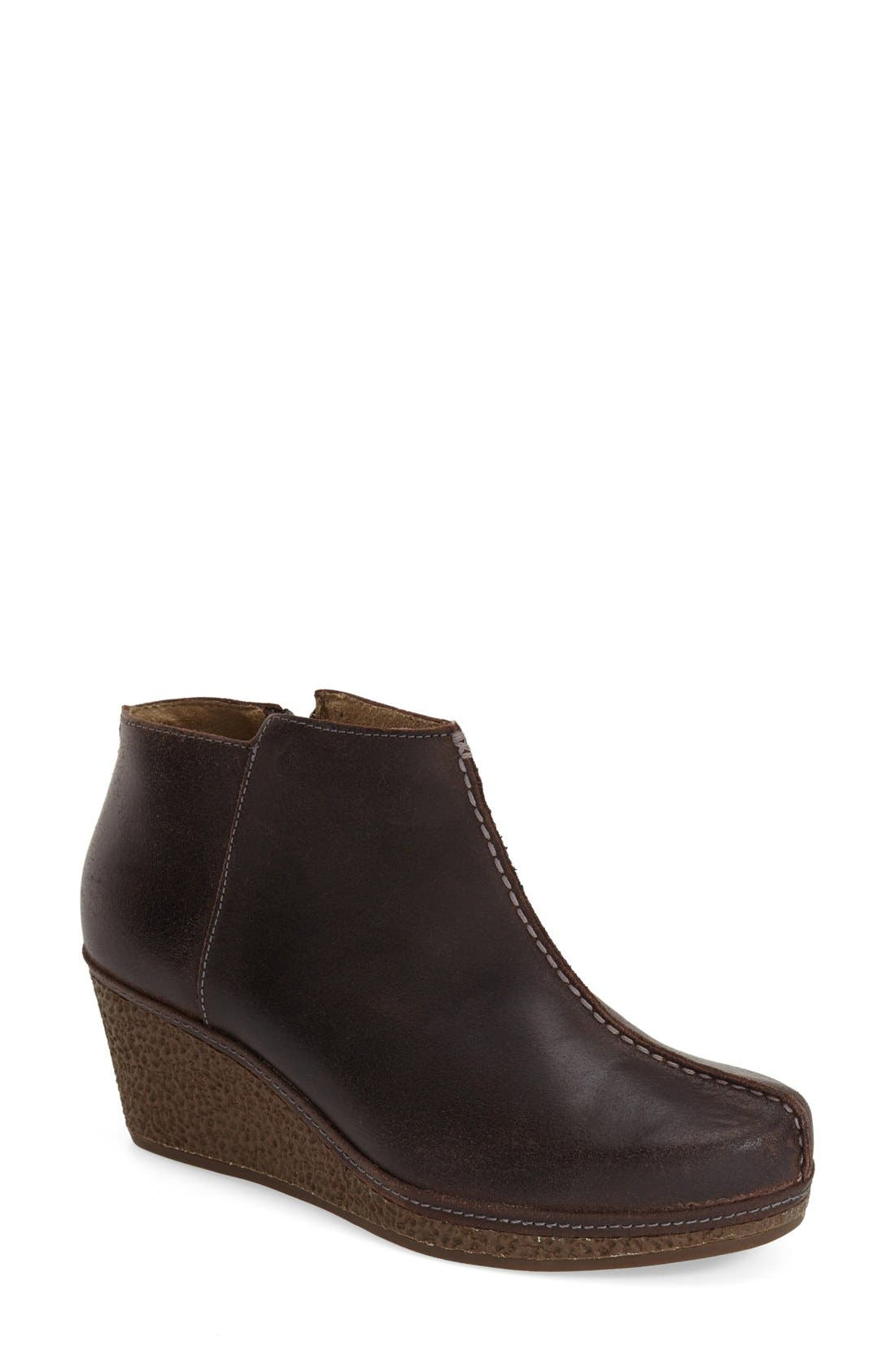 OluKai 'Humu' Wedge Bootie (Women)