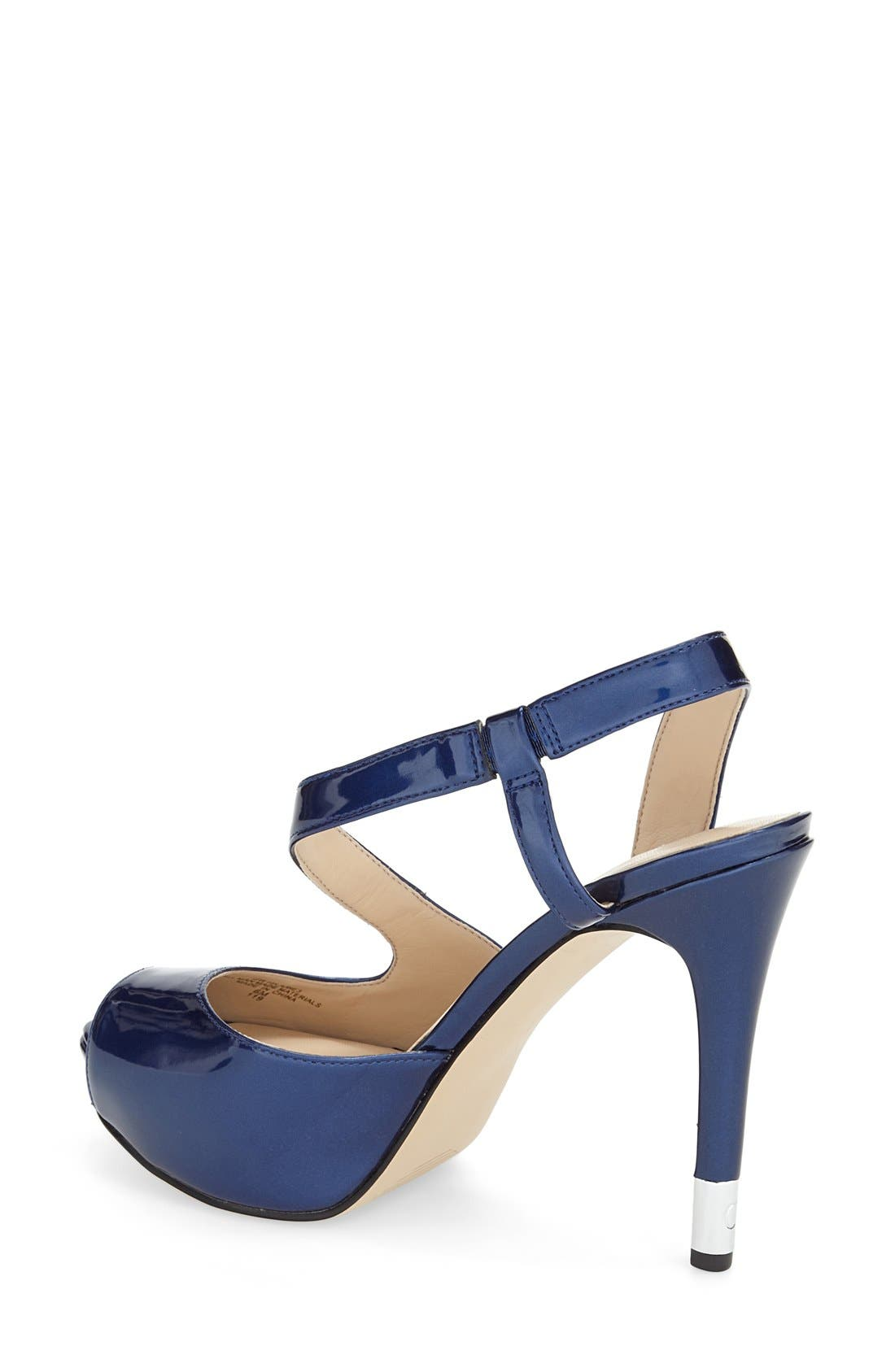 Alternate Image 2  - GUESS 'Hilarie' Peep Toe Sandal (Women)