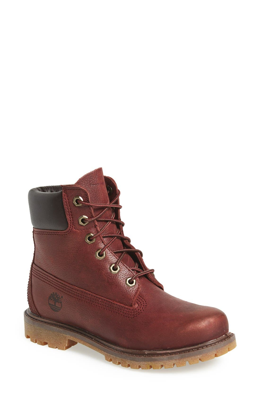 Alternate Image 1 Selected - Timberland '6 Inch Premium' Waterproof Boot (Women)