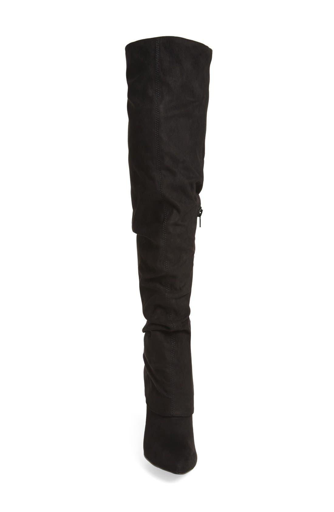 Alternate Image 3  - Nina 'Kymari' Over the Knee Pointy Toe Boot (Women)