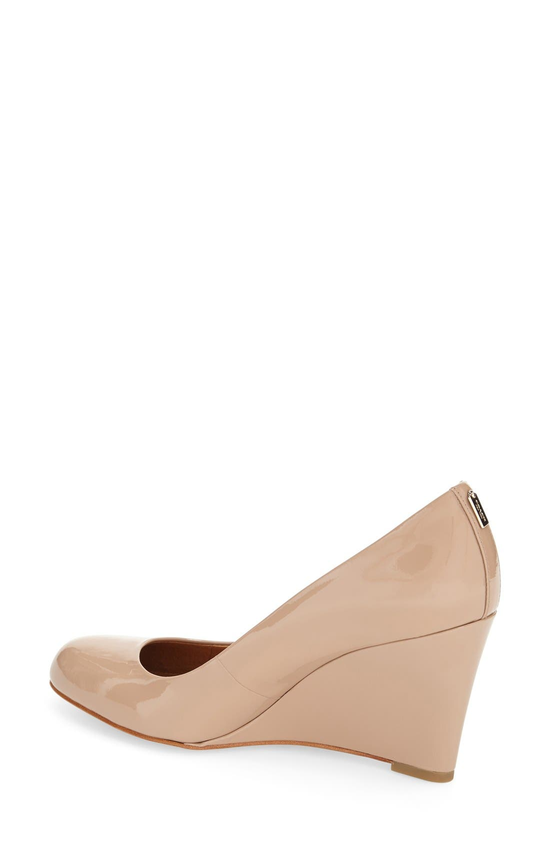Alternate Image 2  - COACH 'Rileigh' Wedge Pump (Women)