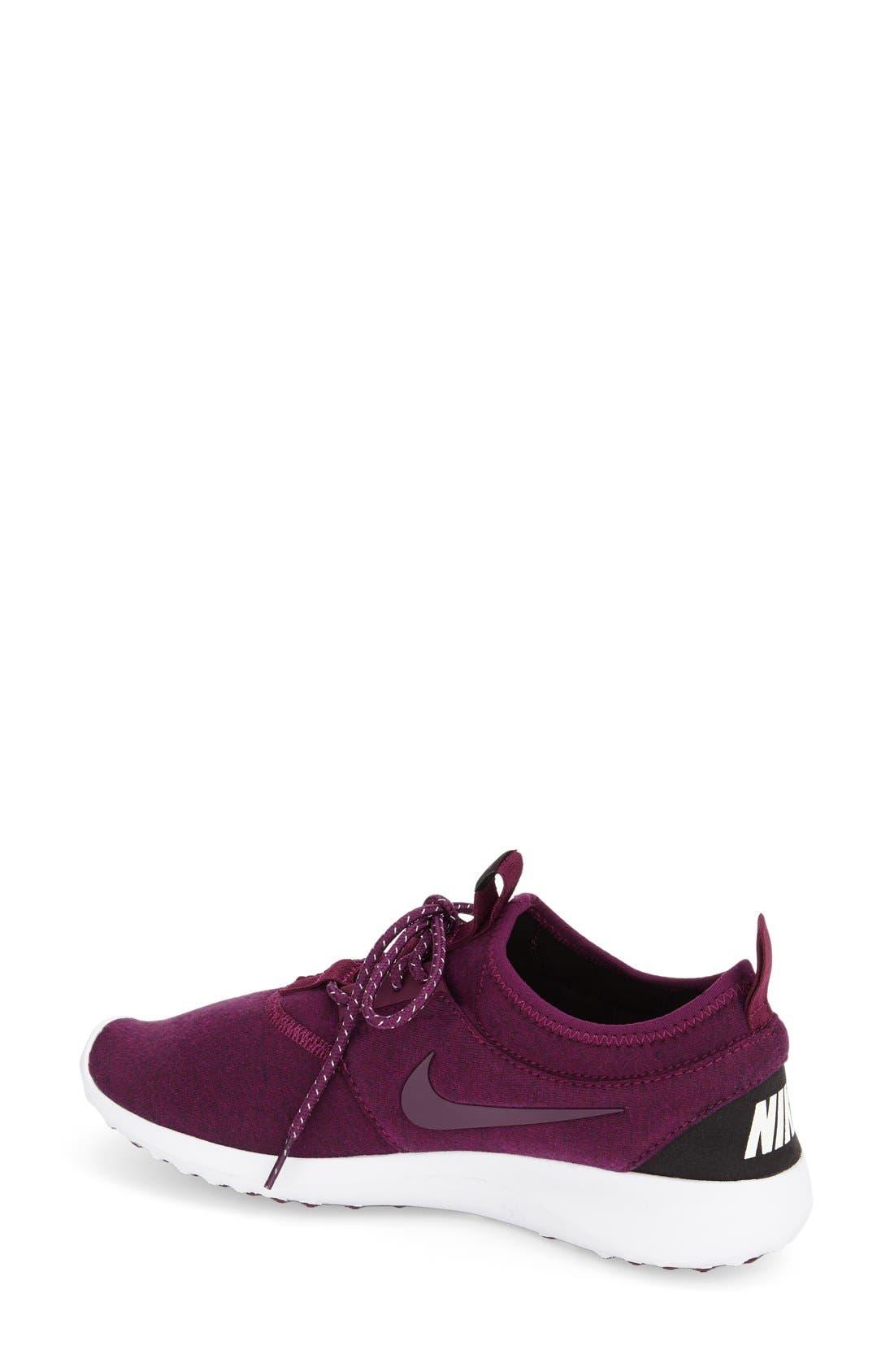 Alternate Image 2  - Nike 'Juvenate Fleece' Sneaker (Women)