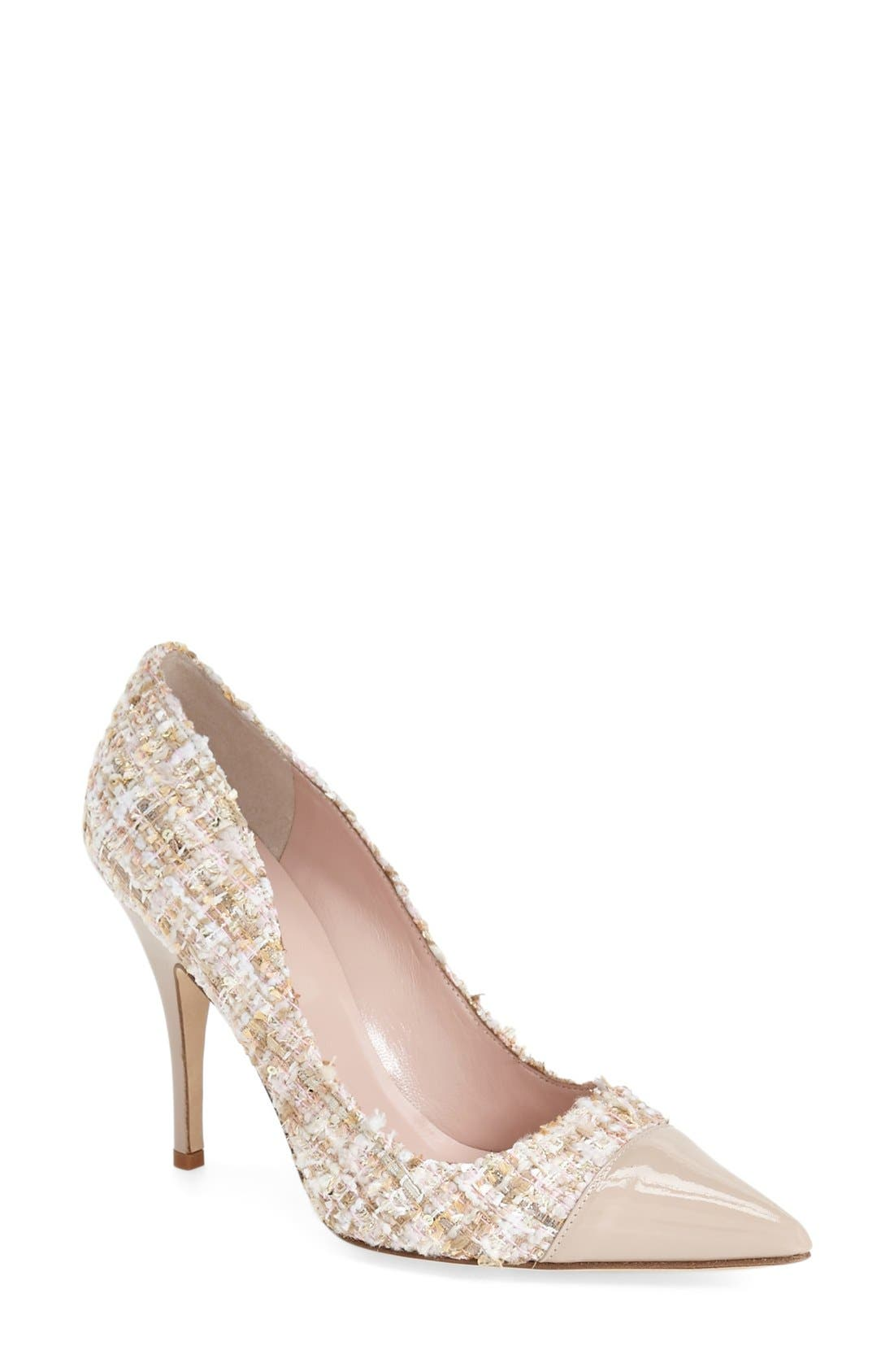 Alternate Image 1 Selected - kate spade new york 'lacy' pointy toe pump (Women)