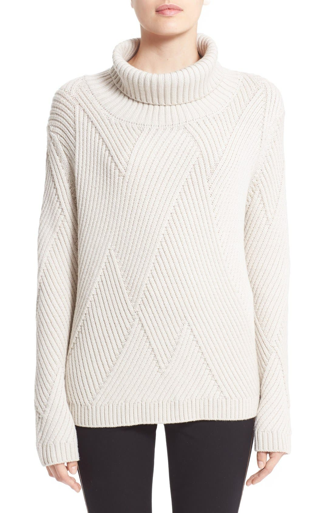 Main Image - rag & bone 'Blithe' Merino Wool Turtleneck Sweater
