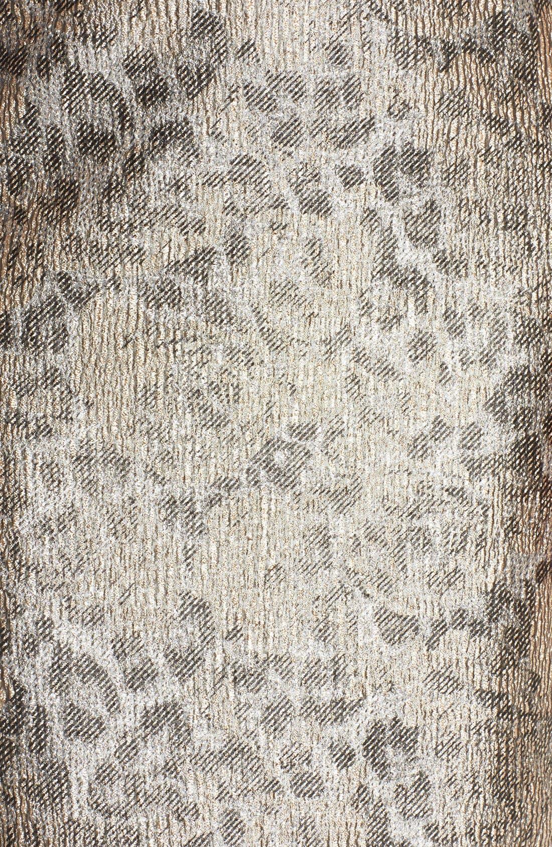 Alternate Image 6  - Ellen Tracy Metallic Jacquard Sheath Dress (Regular & Petite)