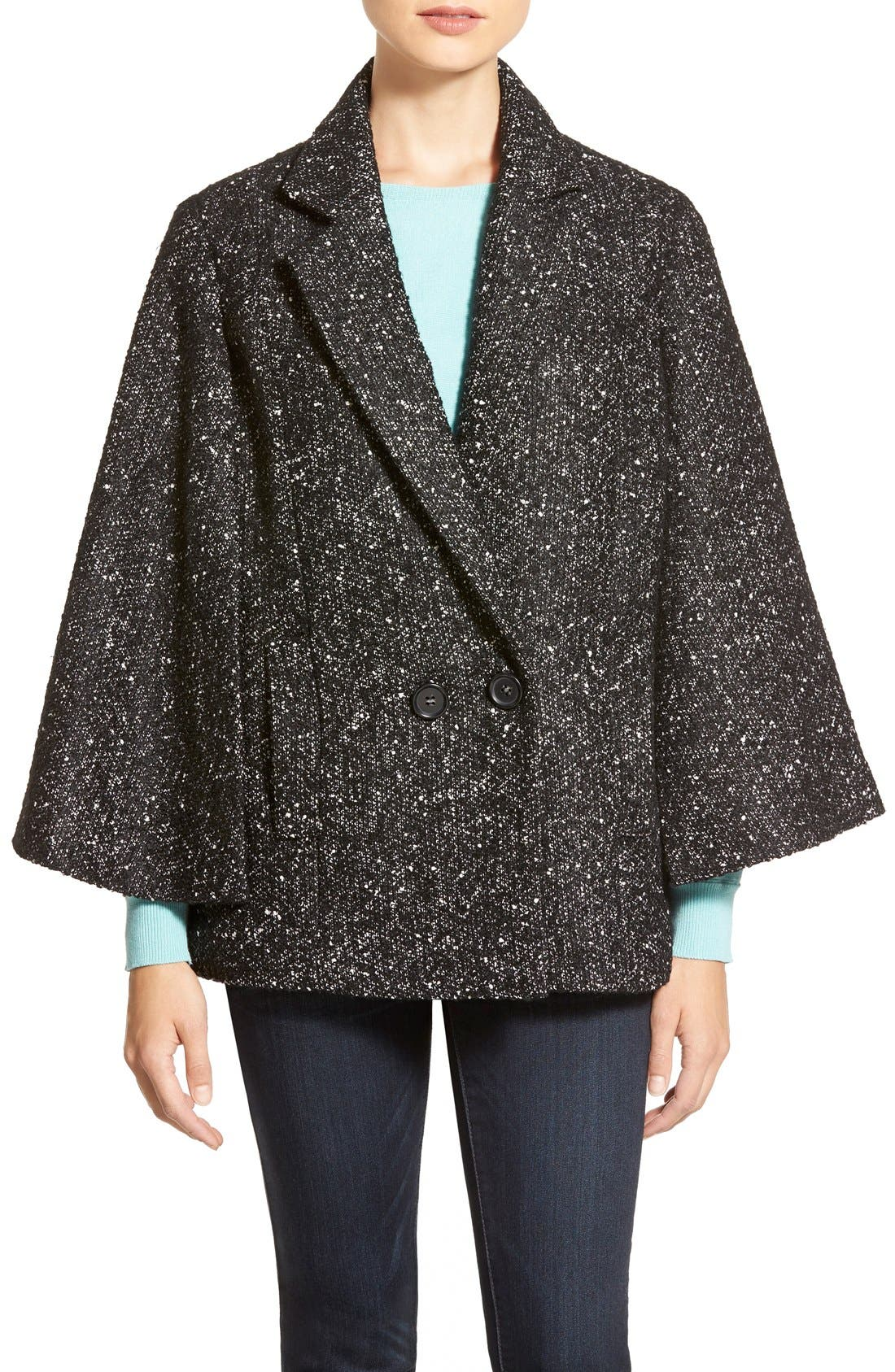 Main Image - Halogen® Double Breasted Cape