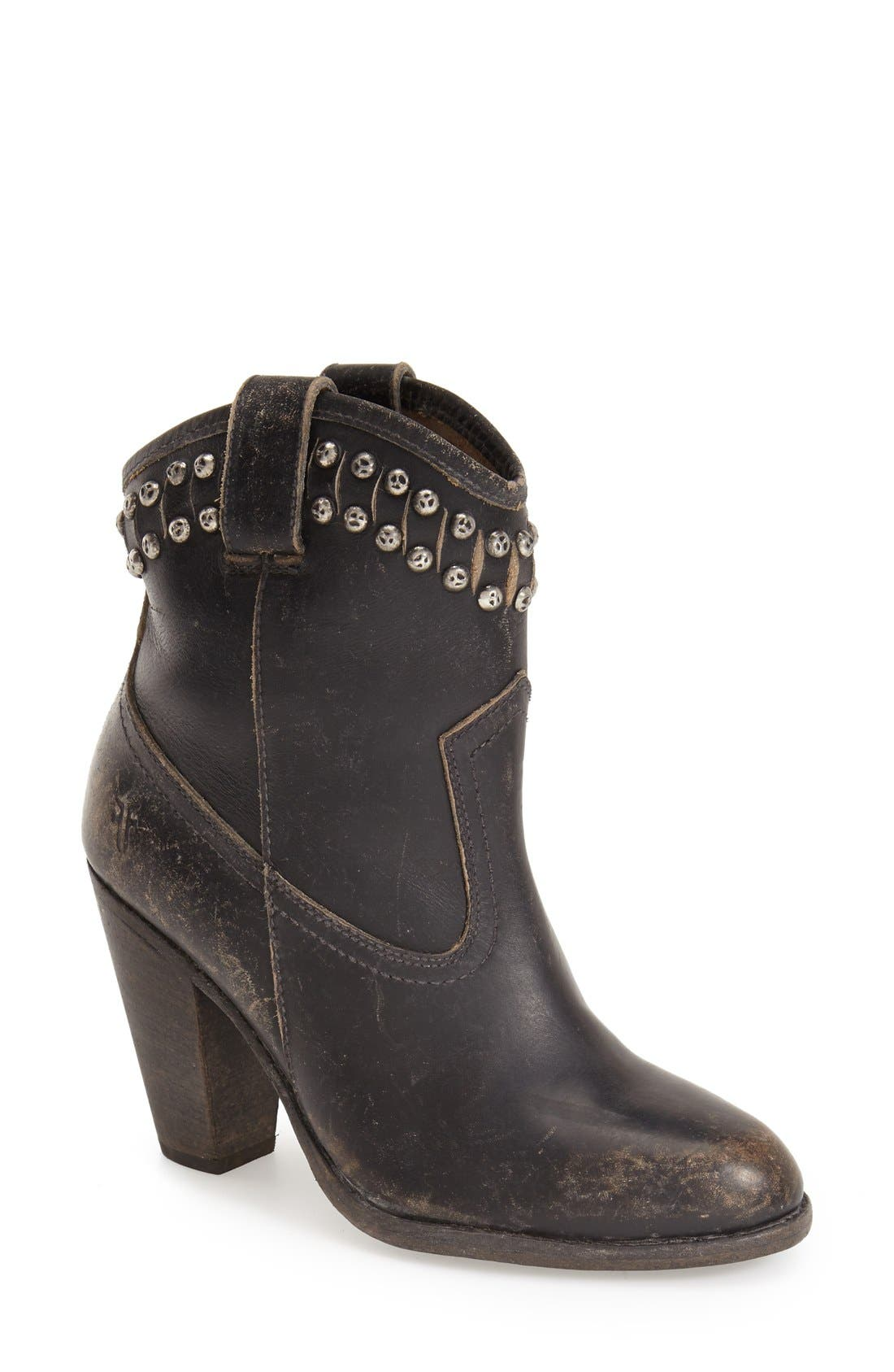 Main Image - Frye 'Jenny -Cut Stud' Short Boot (Women)