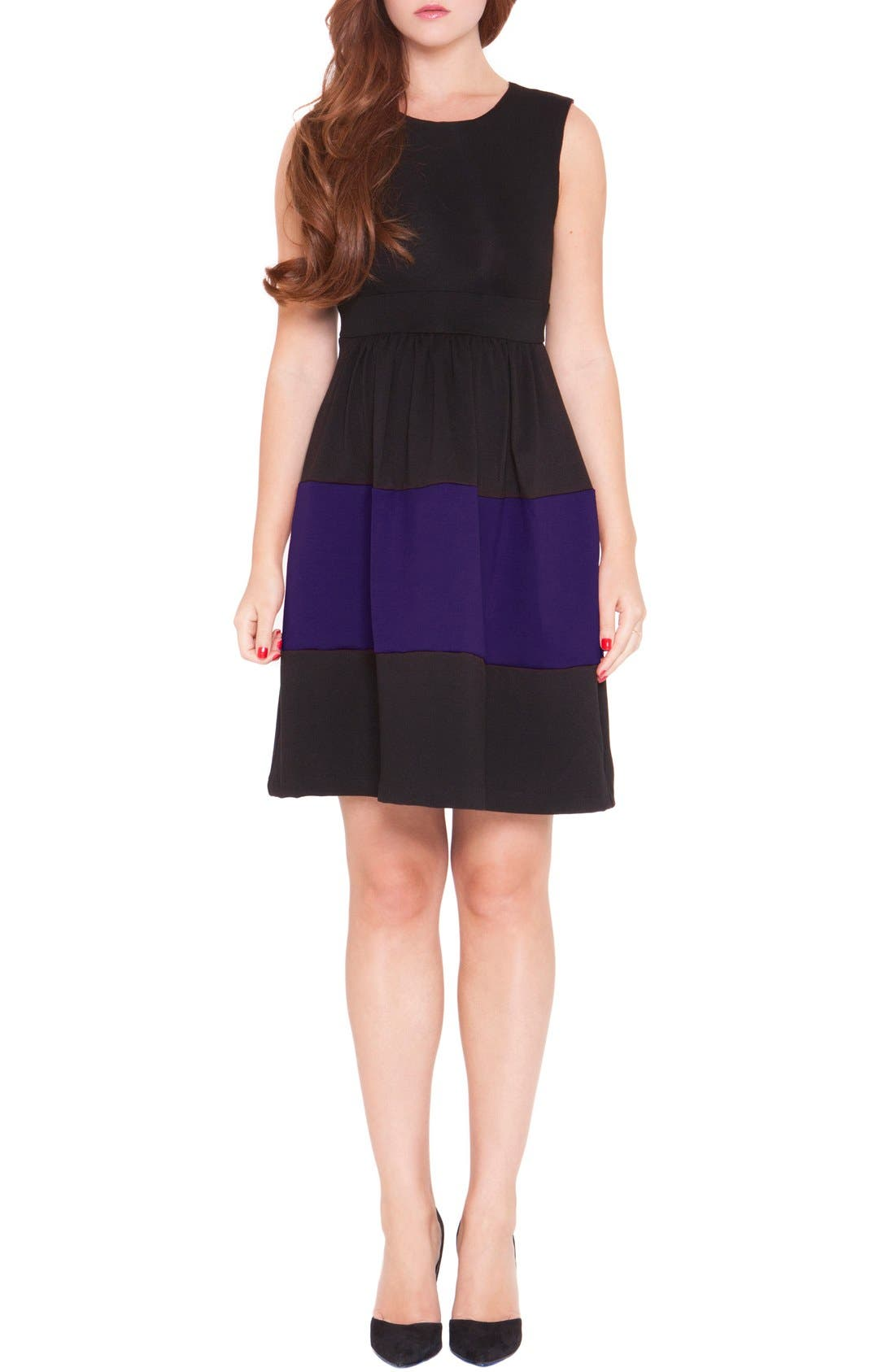OLIAN 'Caroline' ColorblockMaternity Dress