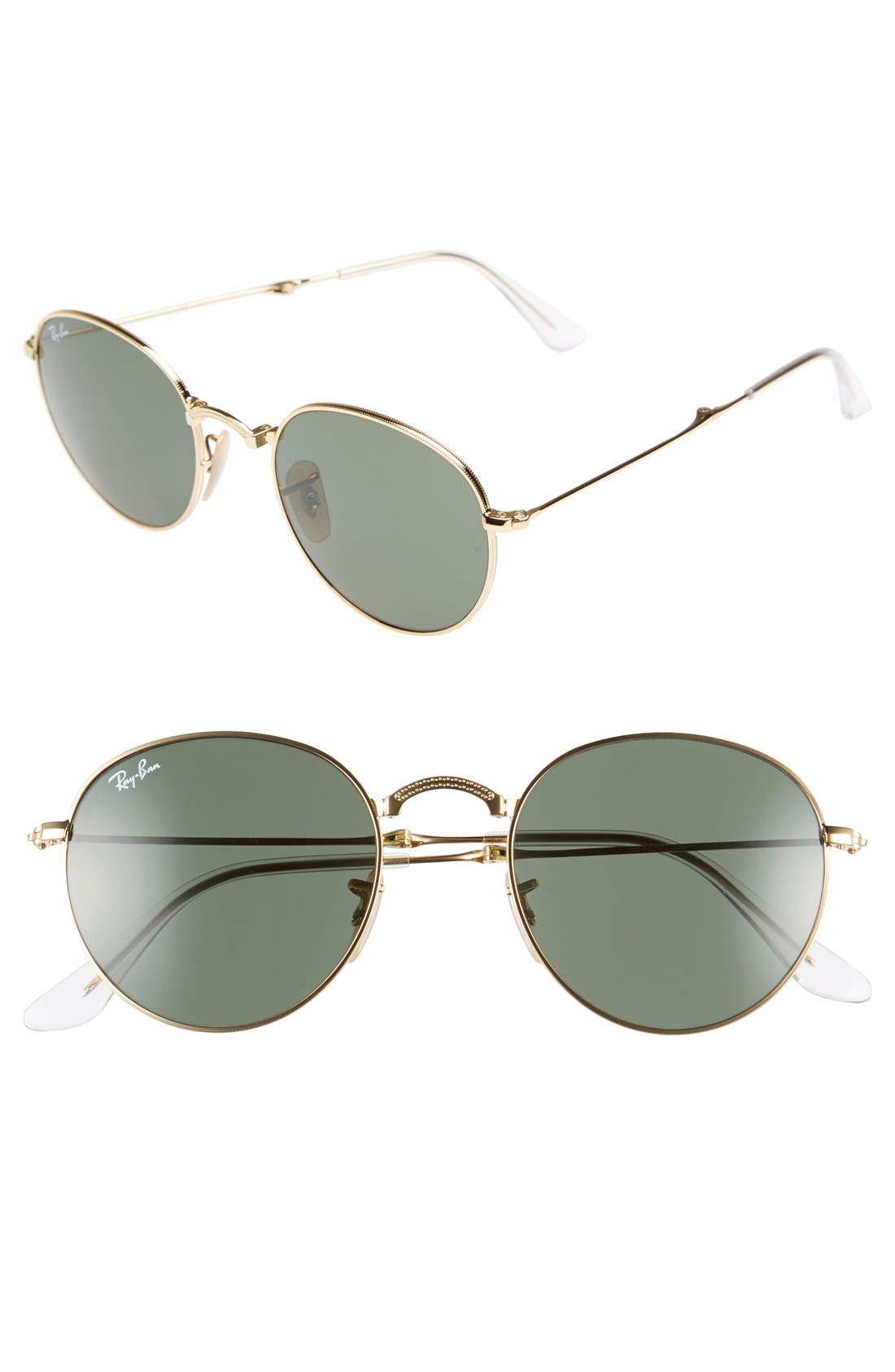 RAY-BAN Icons 50mm Folding Sunglasses