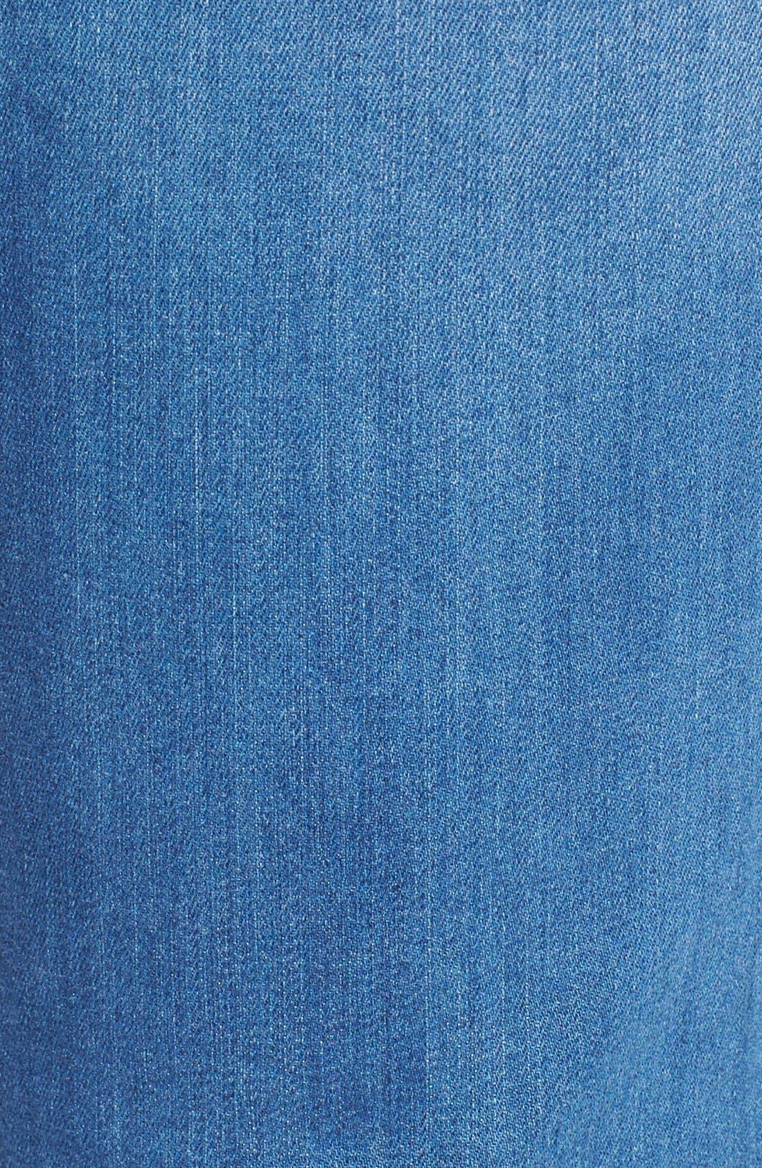 Alternate Image 5  - NYDJ 'Sheri' Stretch Skinny Jeans (Newberry)