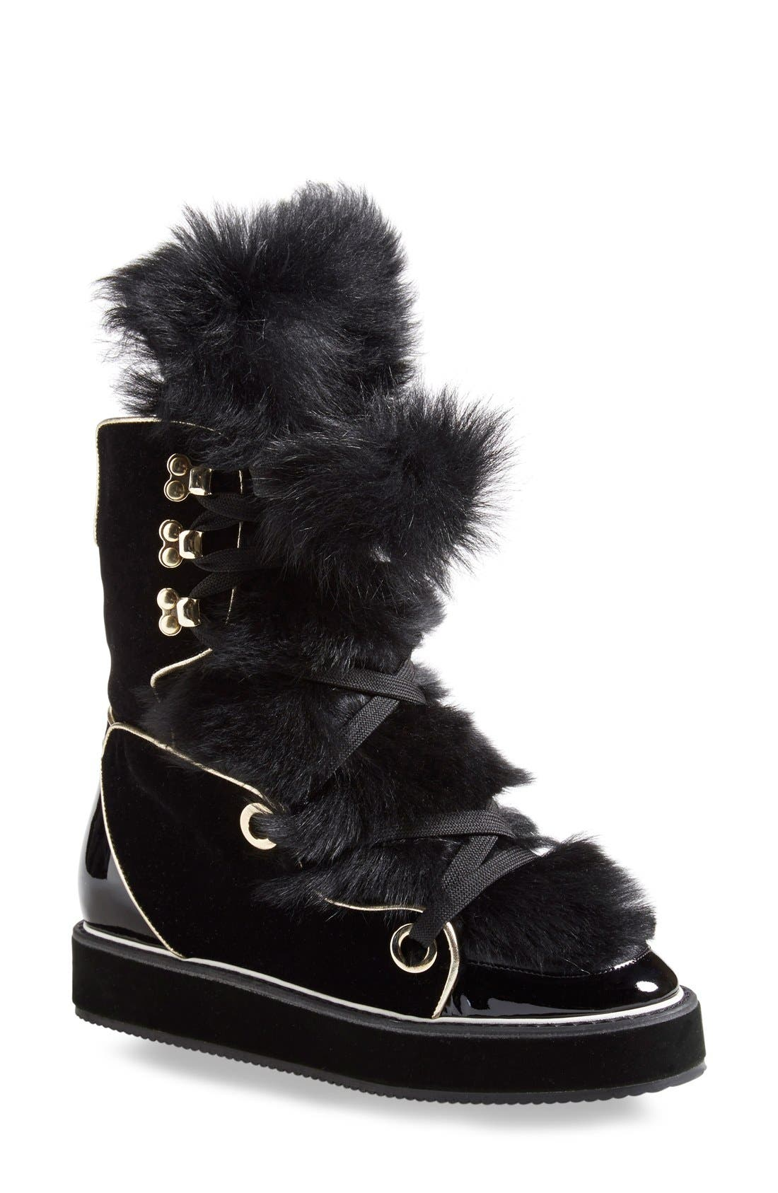 Alternate Image 1 Selected - Nicholas Kirkwood 'Polly Neige' Snow Boot (Women)