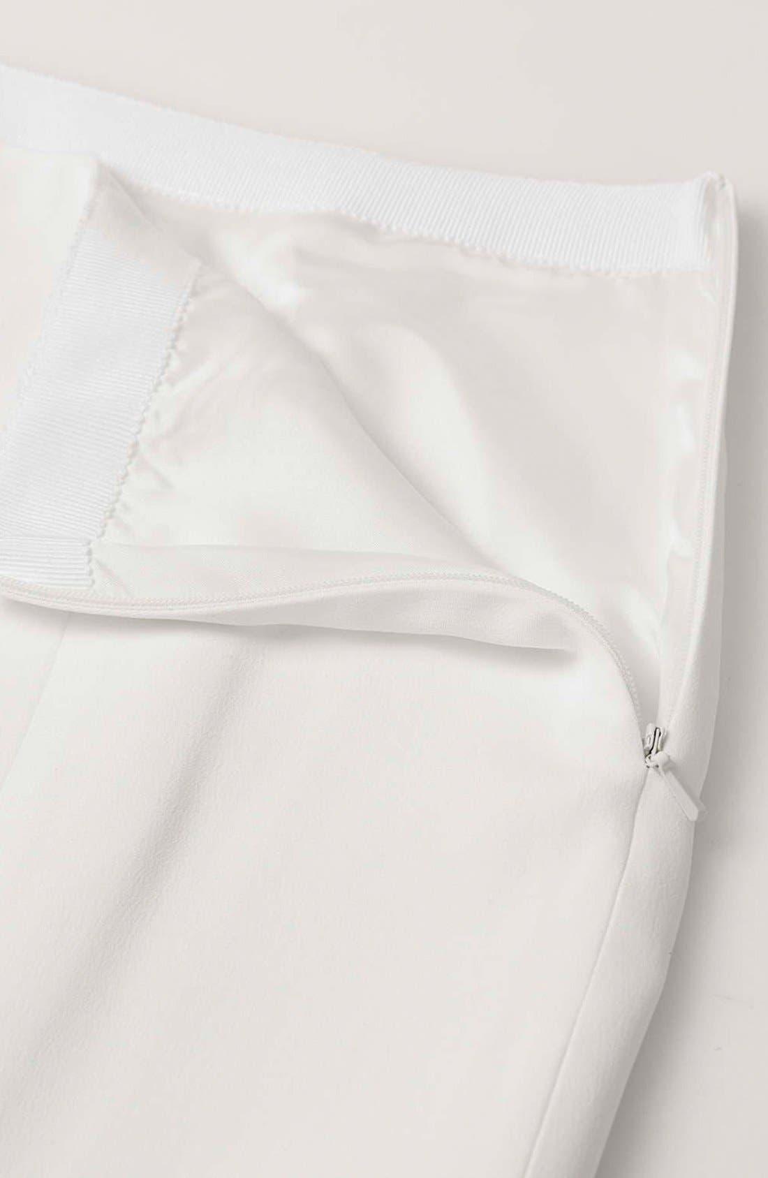 Alternate Image 7  - Topshop Boutique Side Slit Midi Skirt