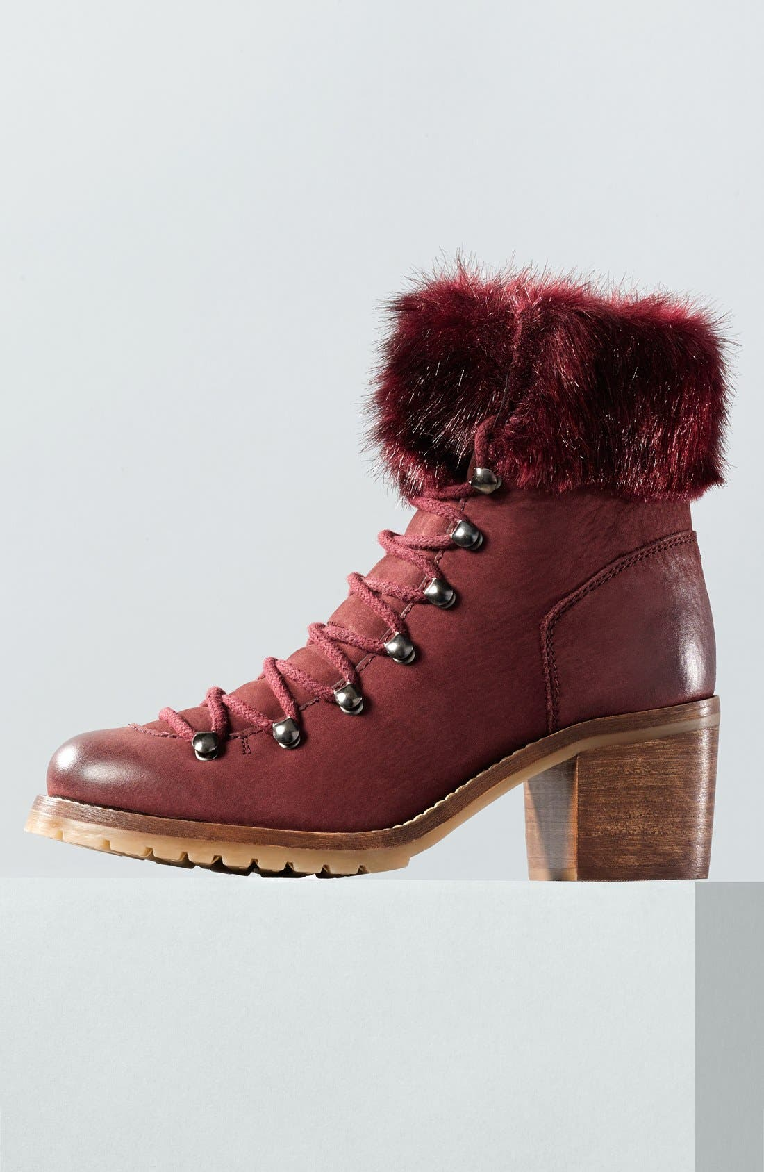 Alternate Image 5  - Steve Madden 'Huck' Lace-Up Bootie (Women)
