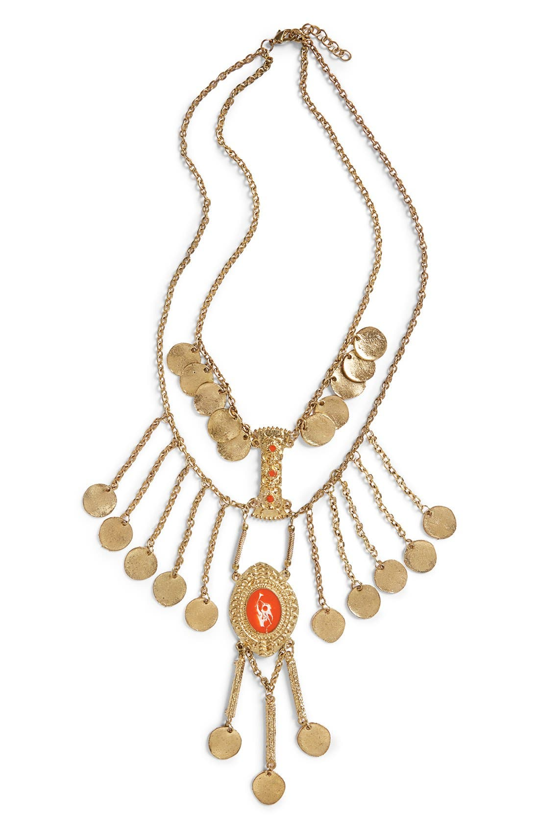 Alternate Image 1 Selected - ZadCoin Statement Necklace