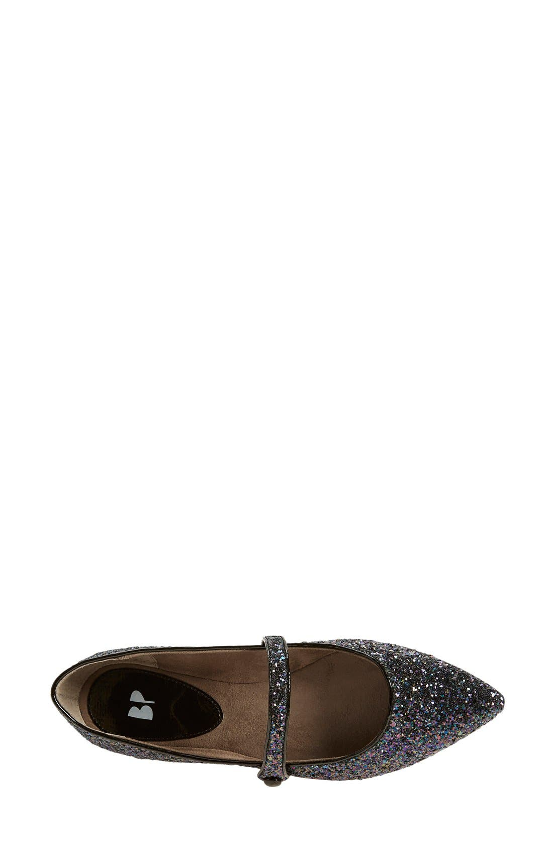 Alternate Image 3  - BP. 'Maribel' Mary Jane Glitter Flat (Women)
