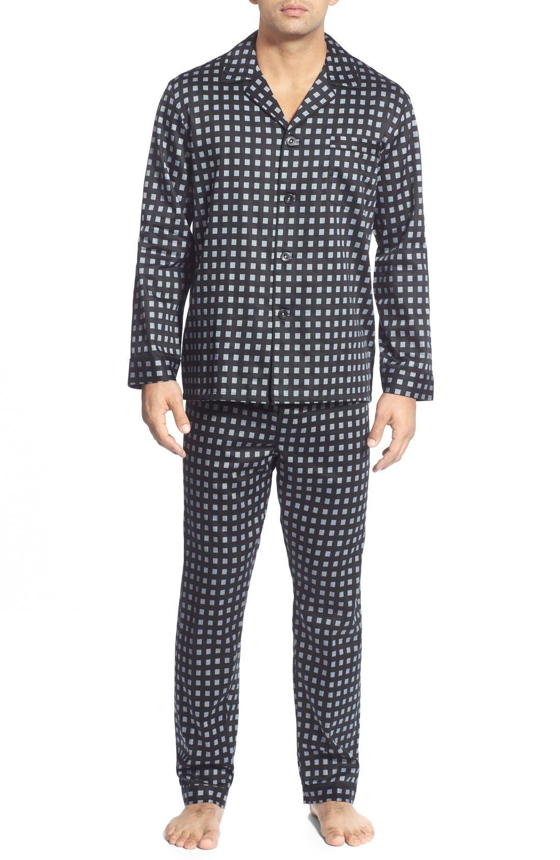 MAJESTIC INTERNATIONAL 'Black Smith' Cotton Pajamas