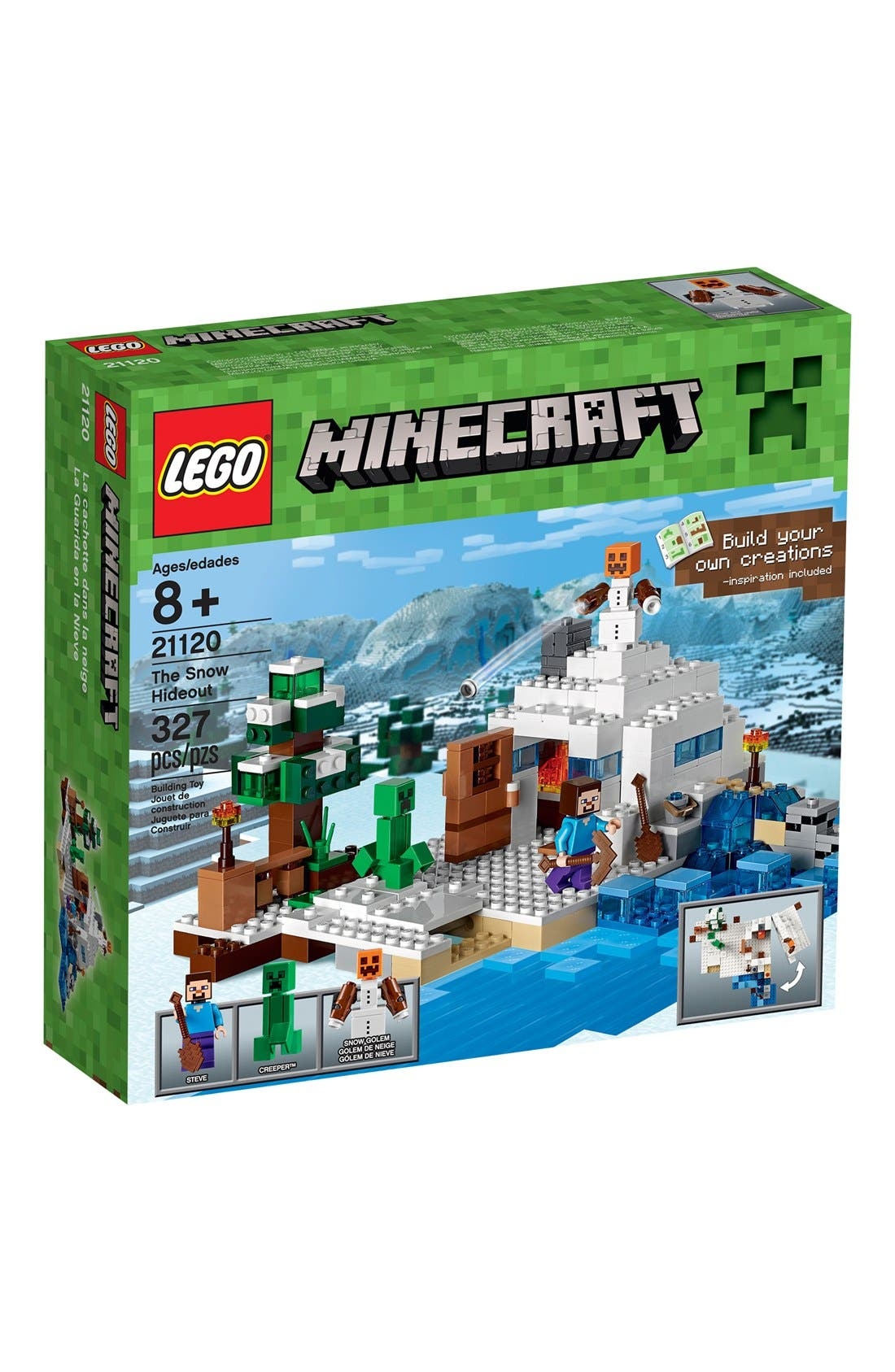 LEGO® Minecraft™ The Snow HIdeout - 21120