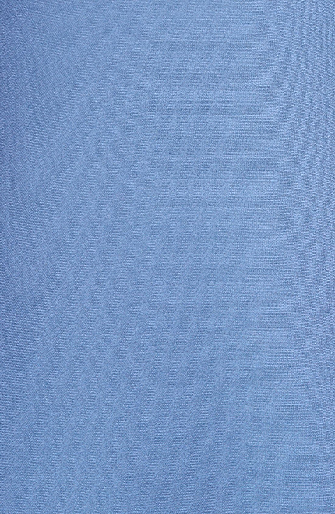 Alternate Image 3  - Valentino Cape Back Wool & Silk Sheath Dress