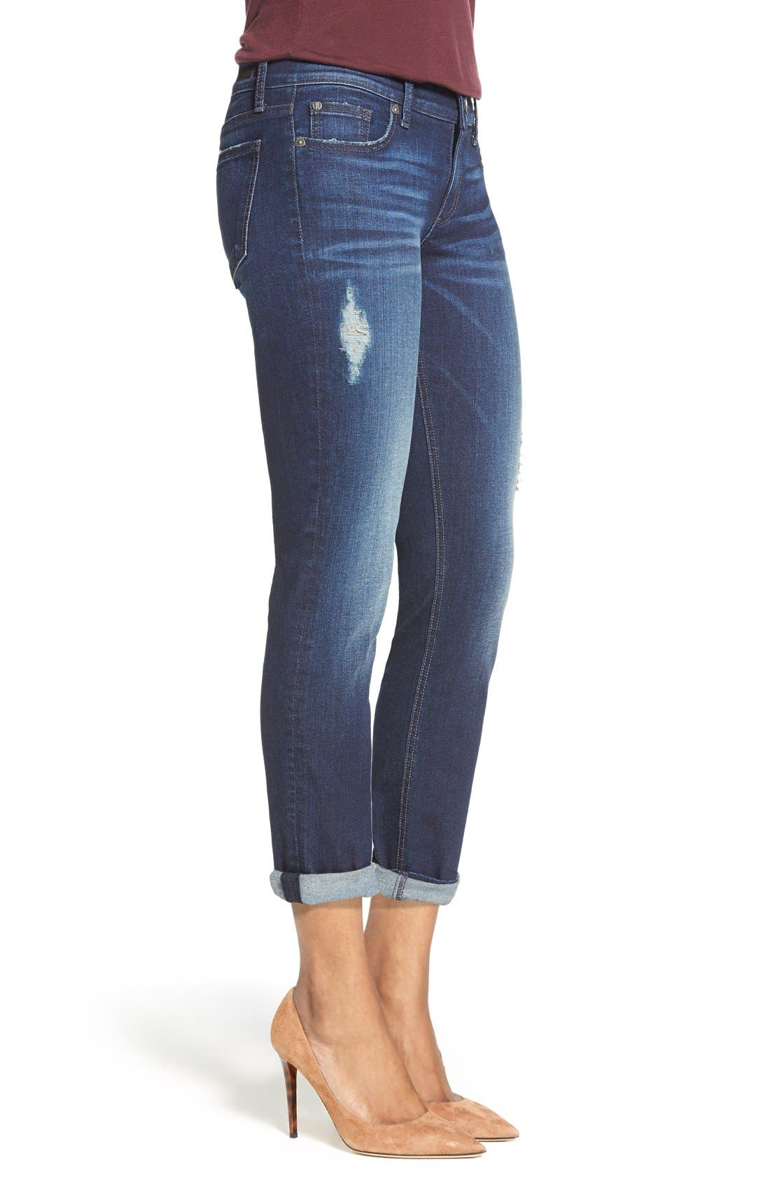 Alternate Image 3  - KUT from the Kloth 'Catherine' Boyfriend Jeans (Luxury)