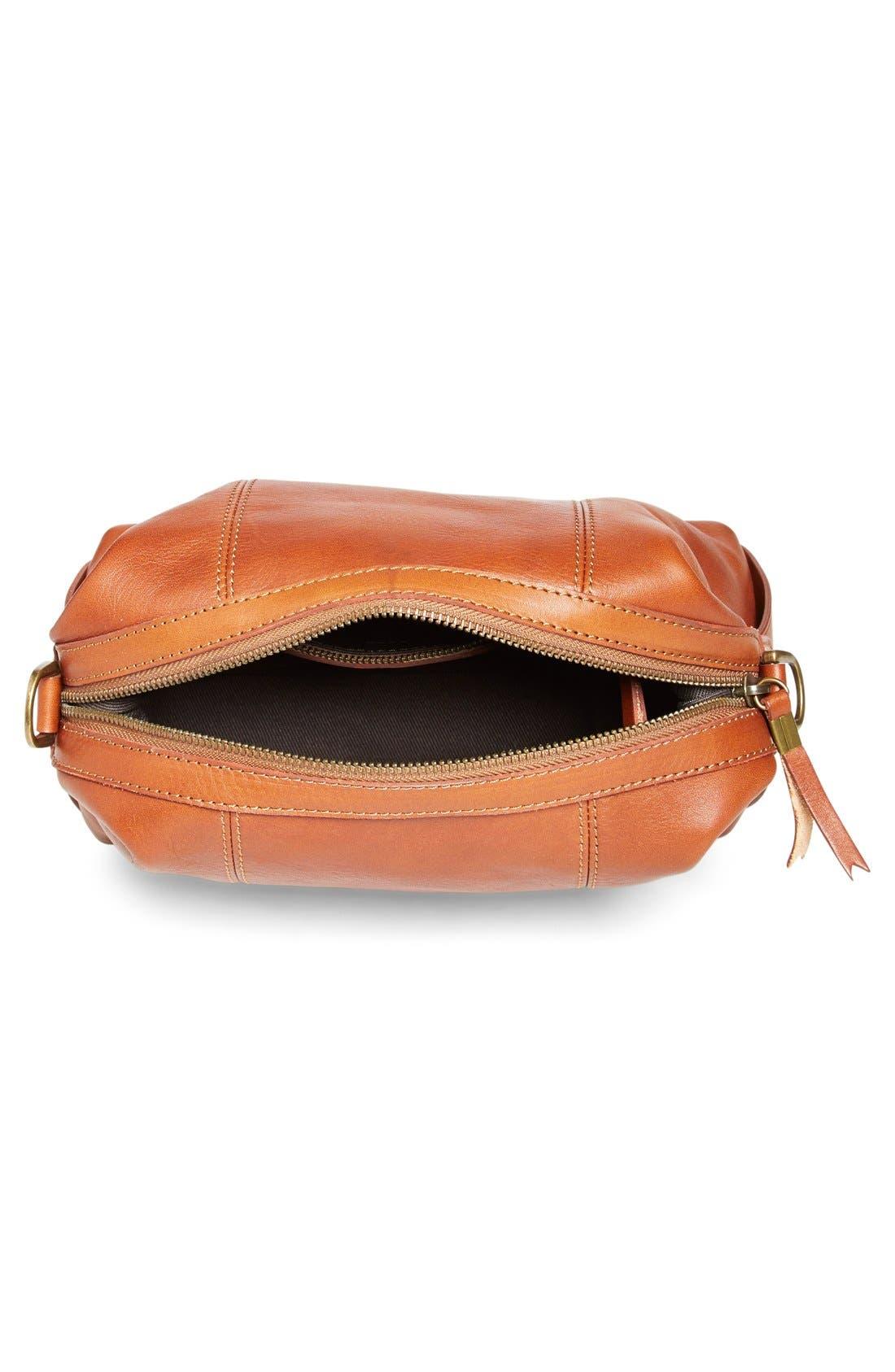 Alternate Image 4  - Madewell 'Mini Glasgow' Leather Crossbody Bag