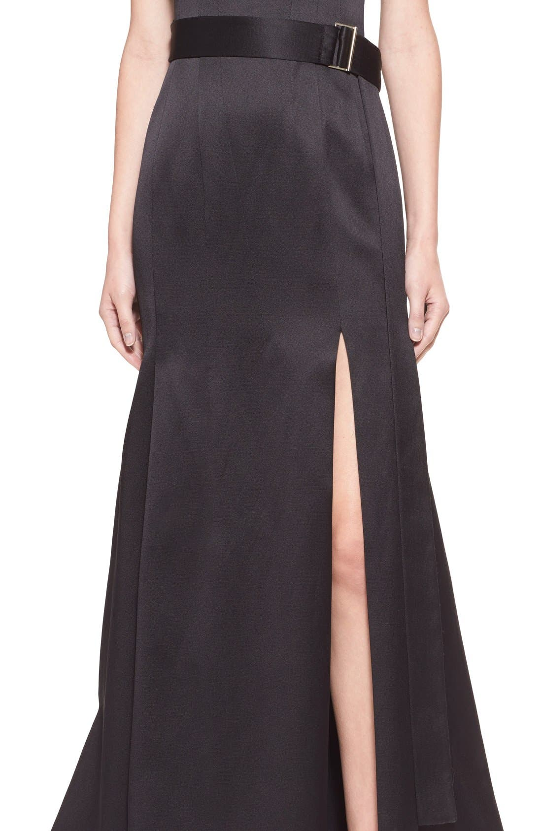 Alternate Image 5  - Jason Wu 'Reese' Strapless Satin Twill Gown