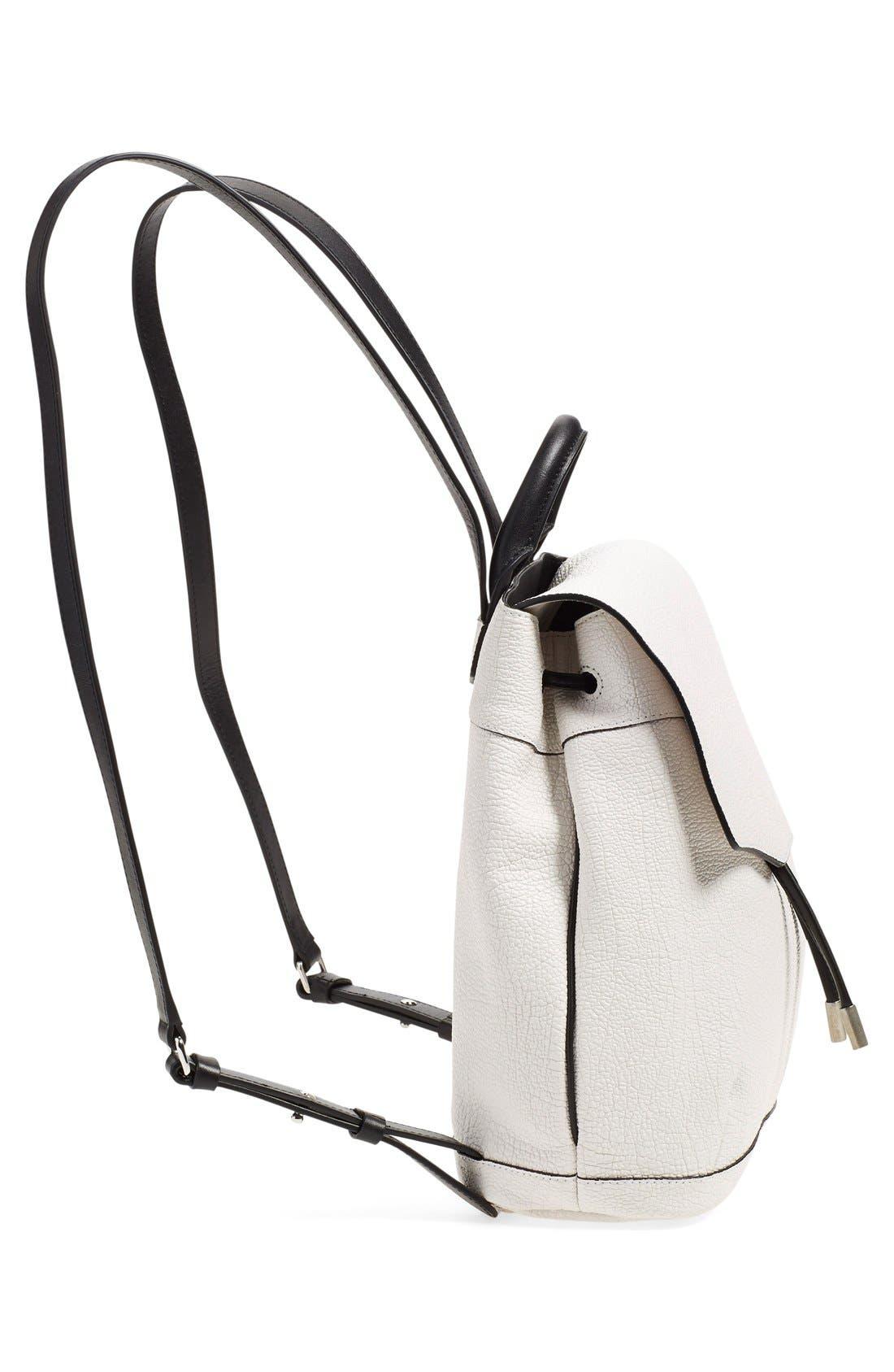 Alternate Image 4  - rag & bone 'Mini Pilot' Leather Backpack