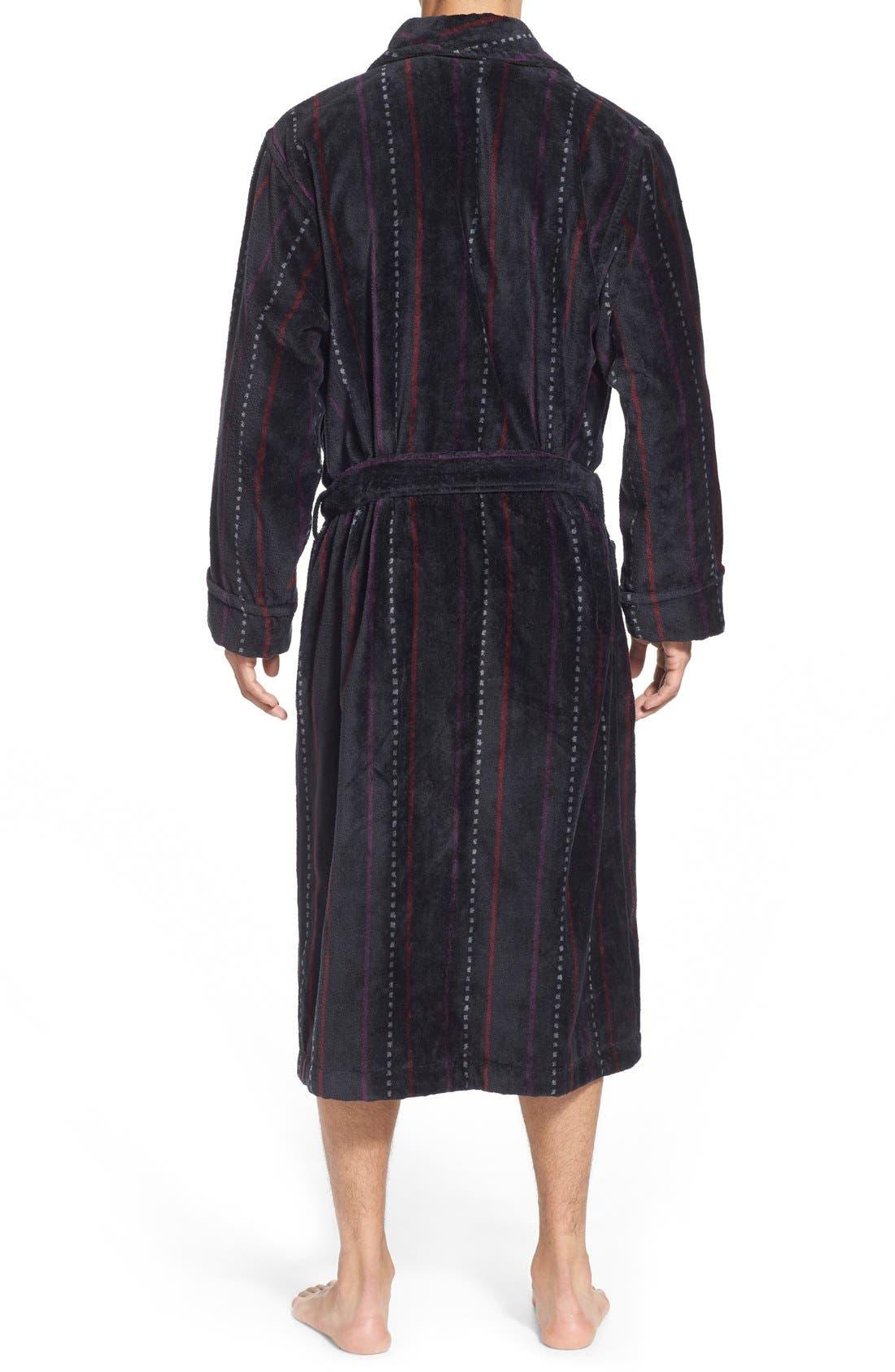 Alternate Image 2  - Nordstrom Men's Shop Terry Shawl Robe