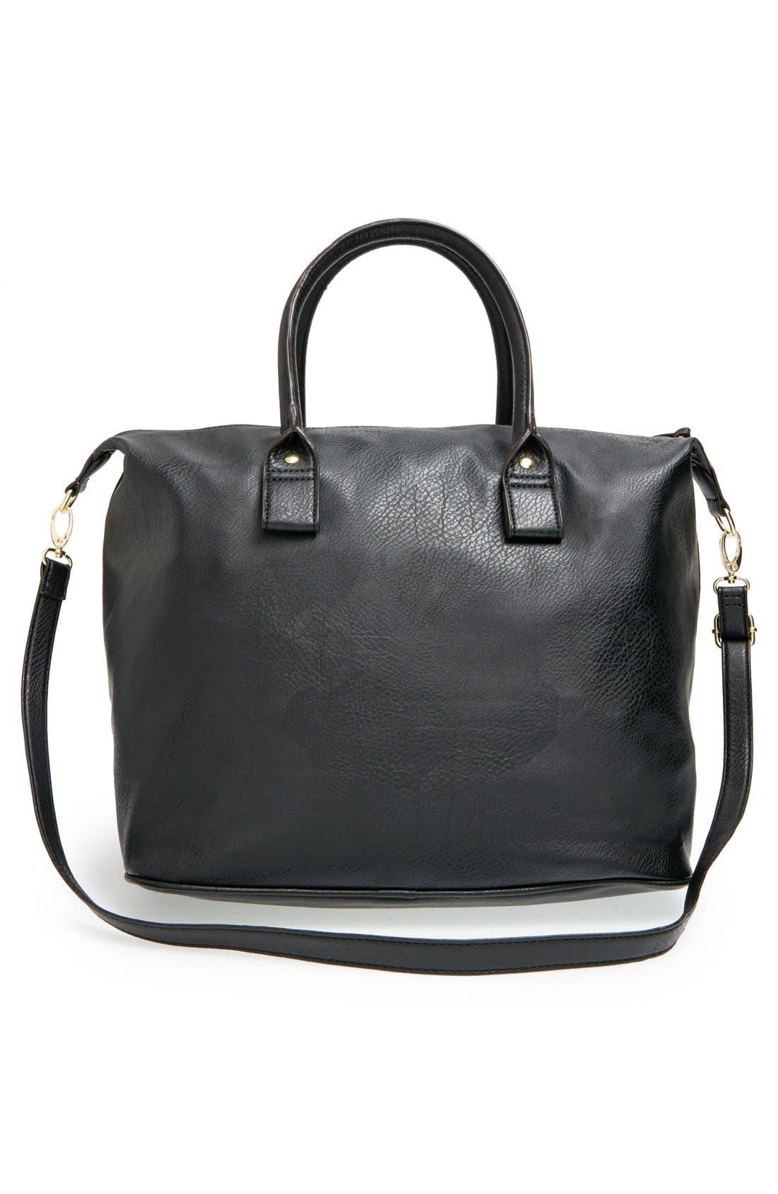 Alternate Image 3  - BP. Faux Leather Satchel