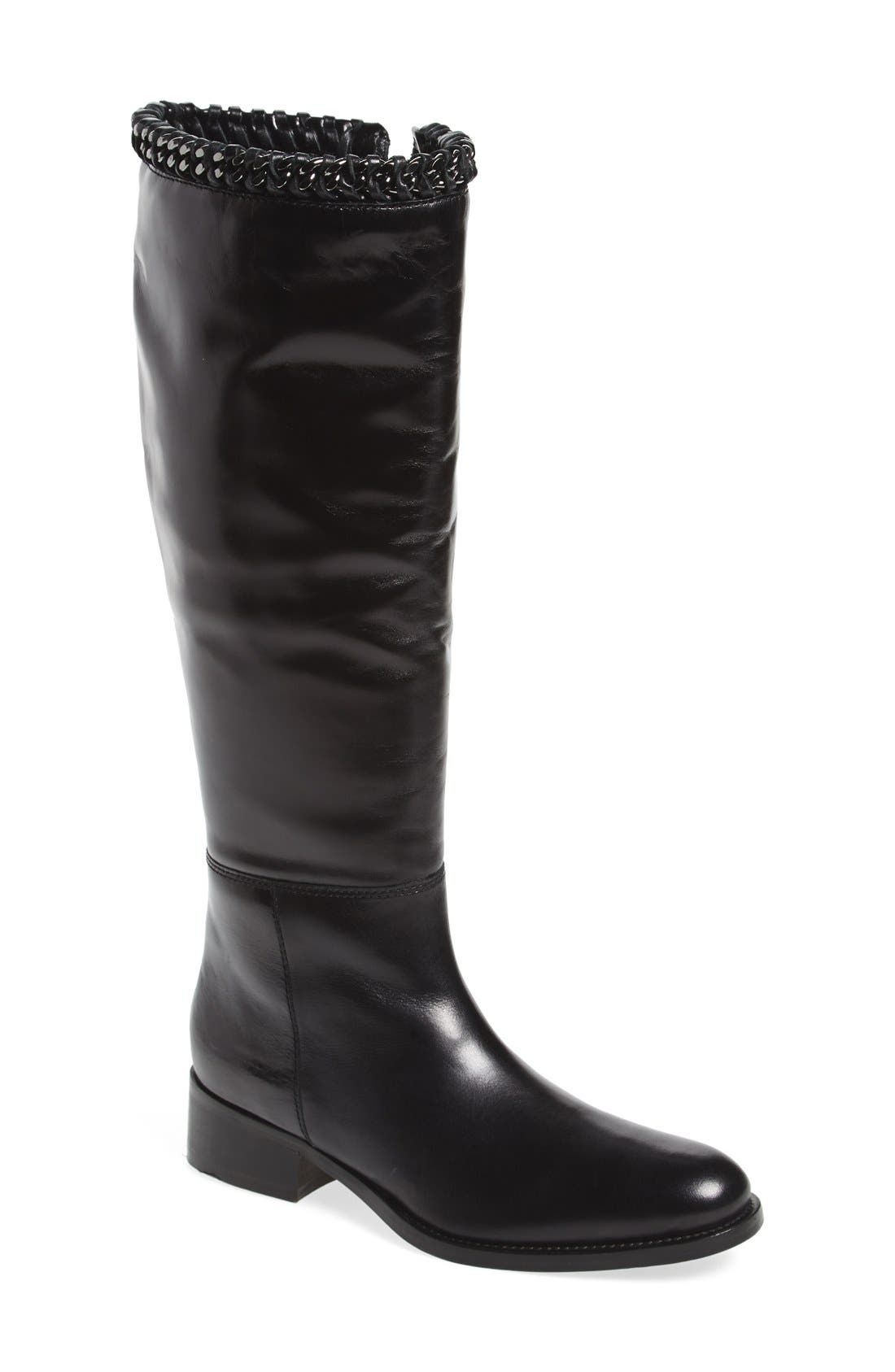Alternate Image 1 Selected - Johnston & Murphy 'Sari' Knee High Boot (Women)
