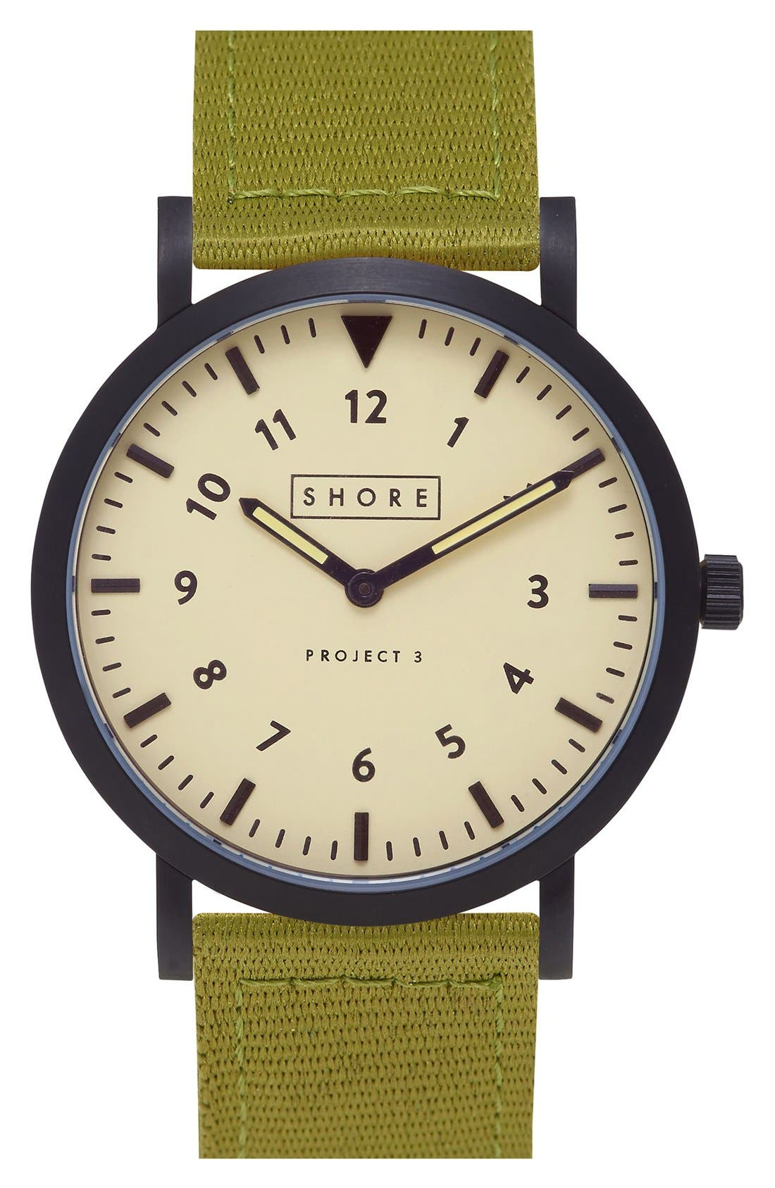 Alternate Image 1 Selected - Shore Projects 'Barra' Strap Watch, 39mm