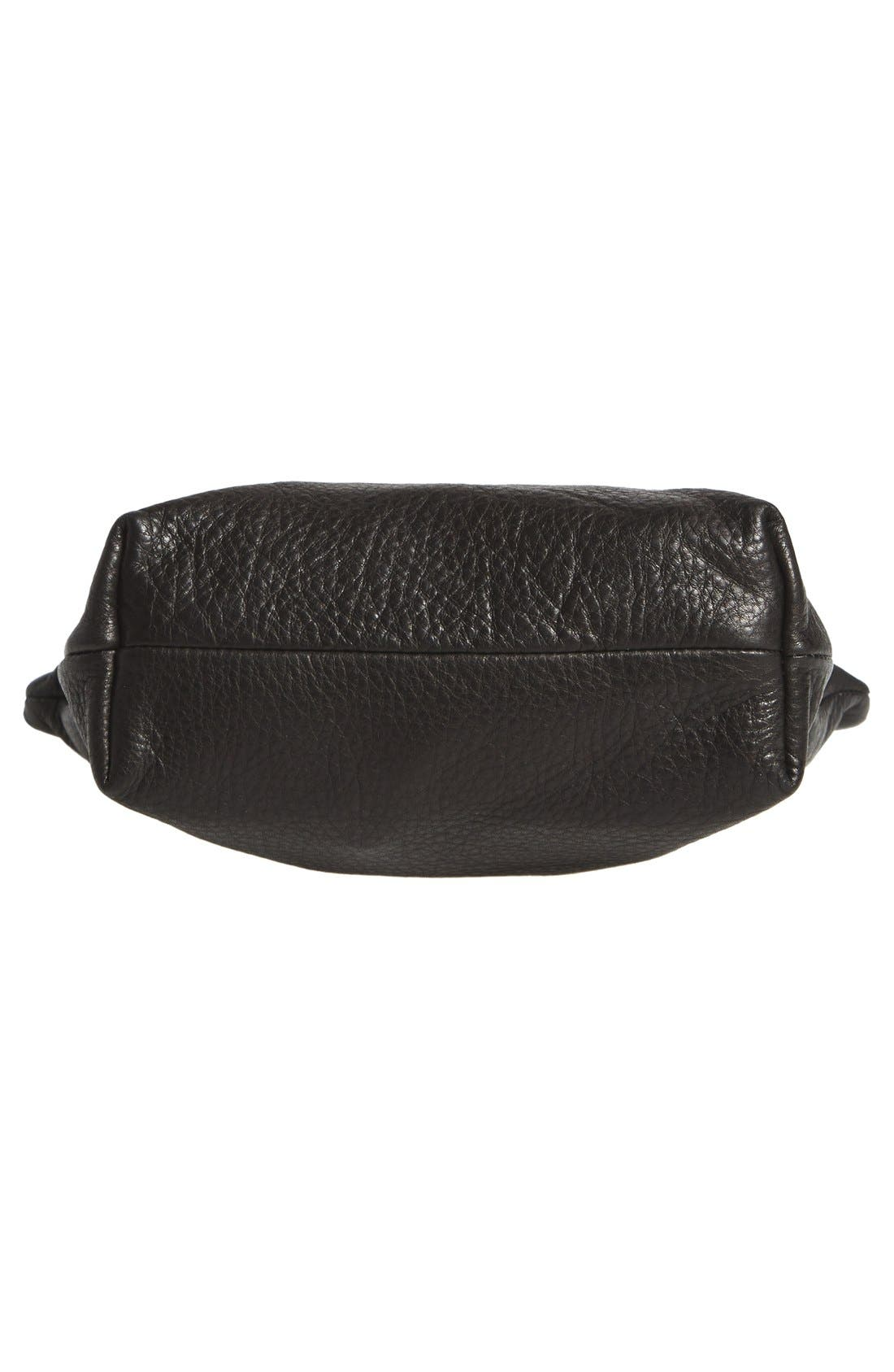 Alternate Image 6  - Baggu® Medium Leather Zip Pouch