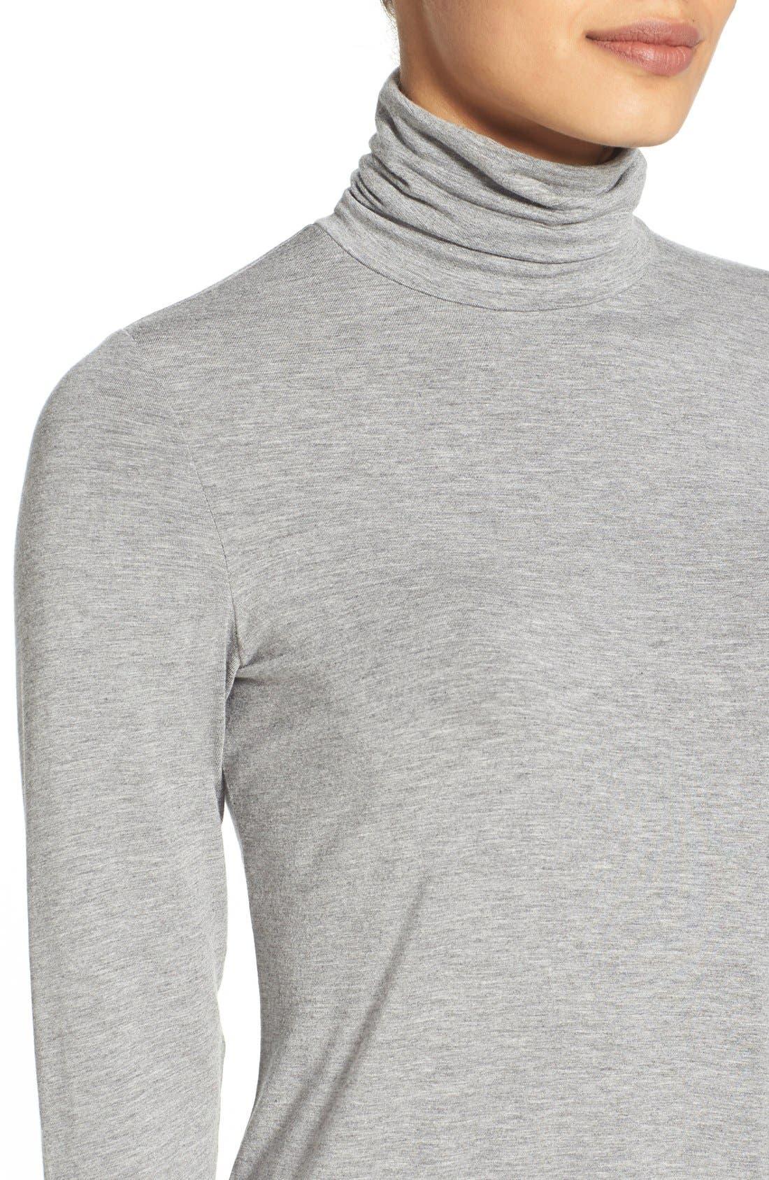 Alternate Image 4  - Eileen Fisher Scrunch Neck Tunic