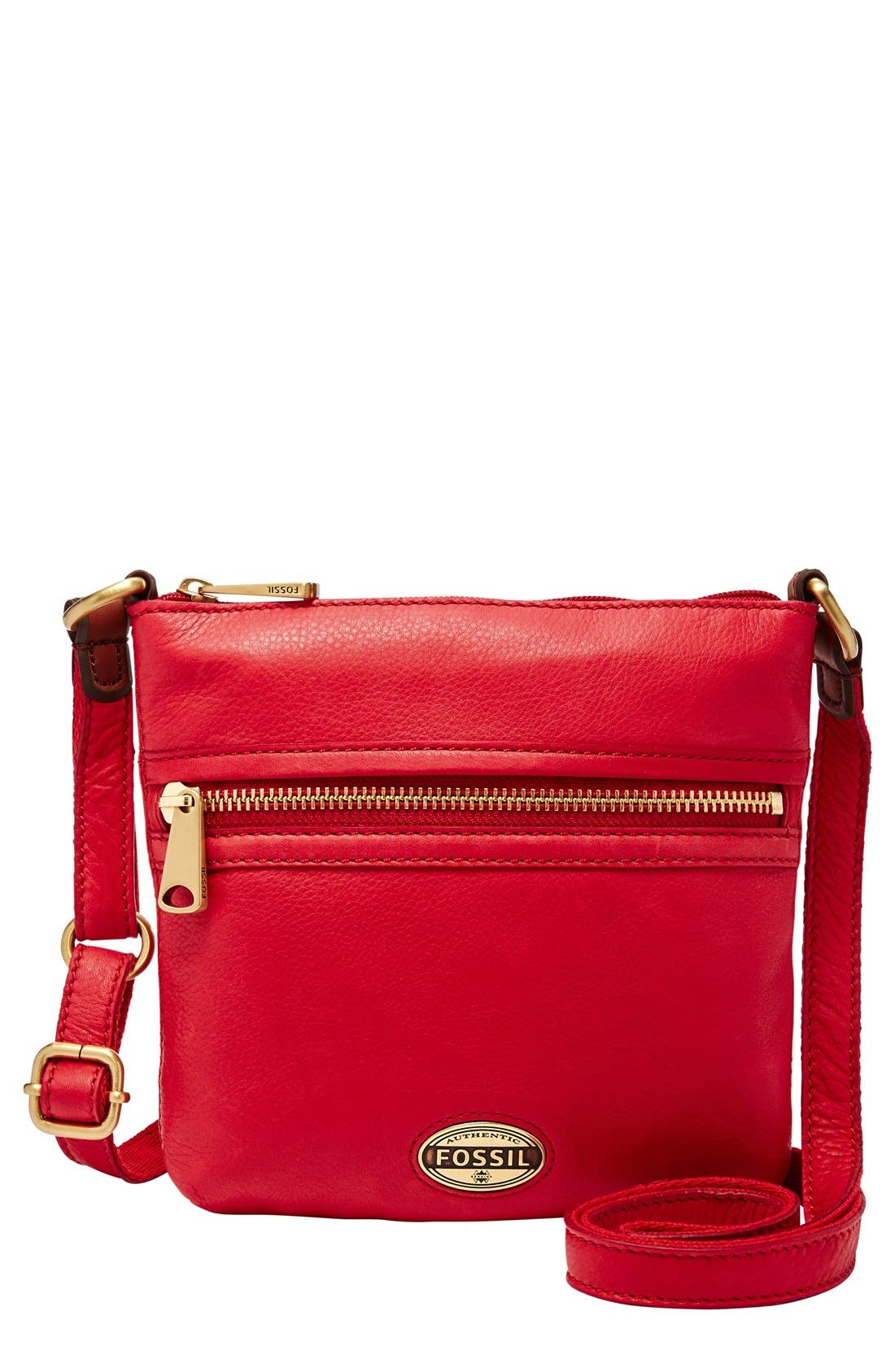Main Image - Fossil 'Explorer - Mini' Crossbody Bag