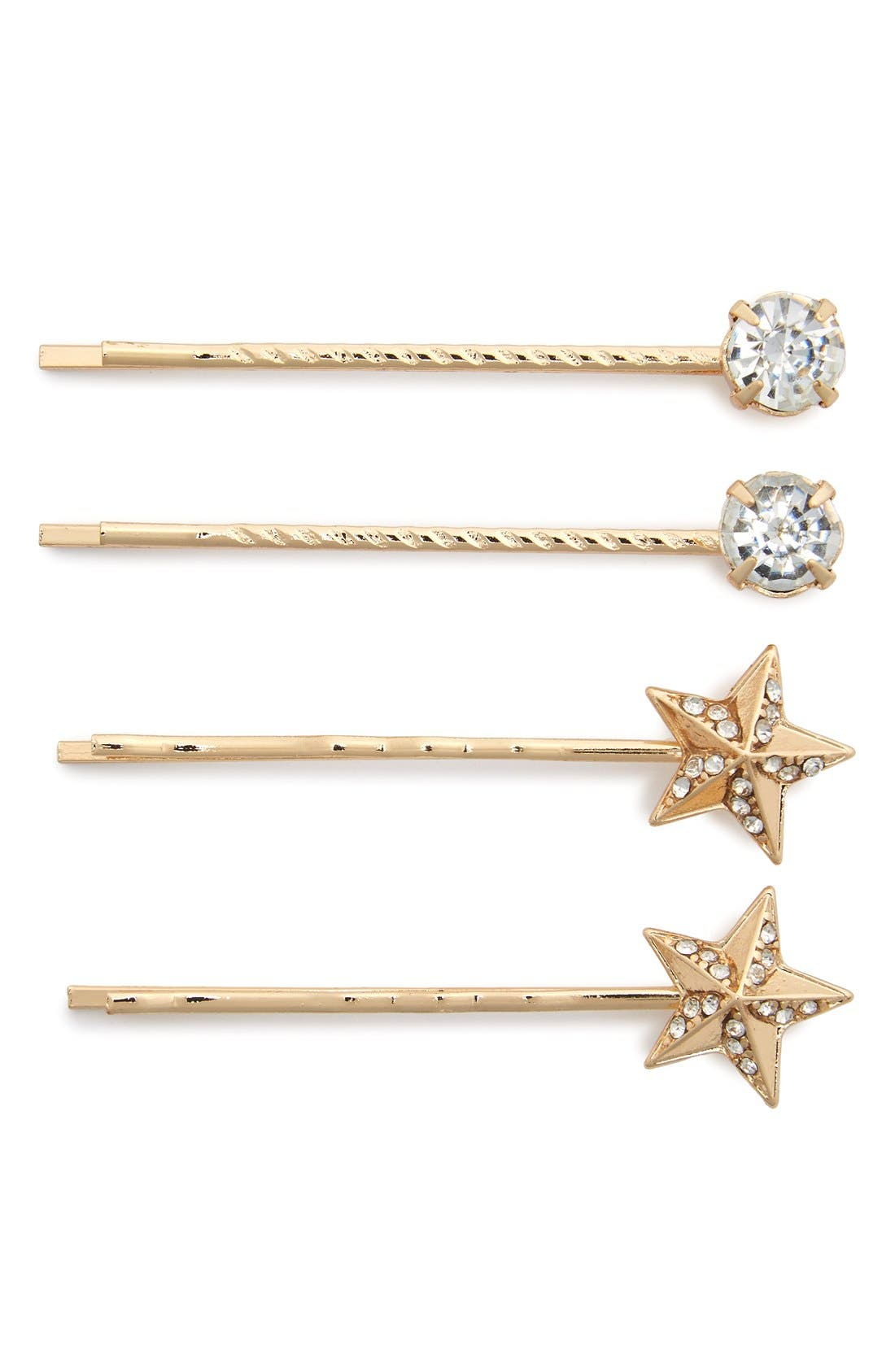 Main Image - Tasha 'Shooting Star' Bobby Pins (4-Pack)