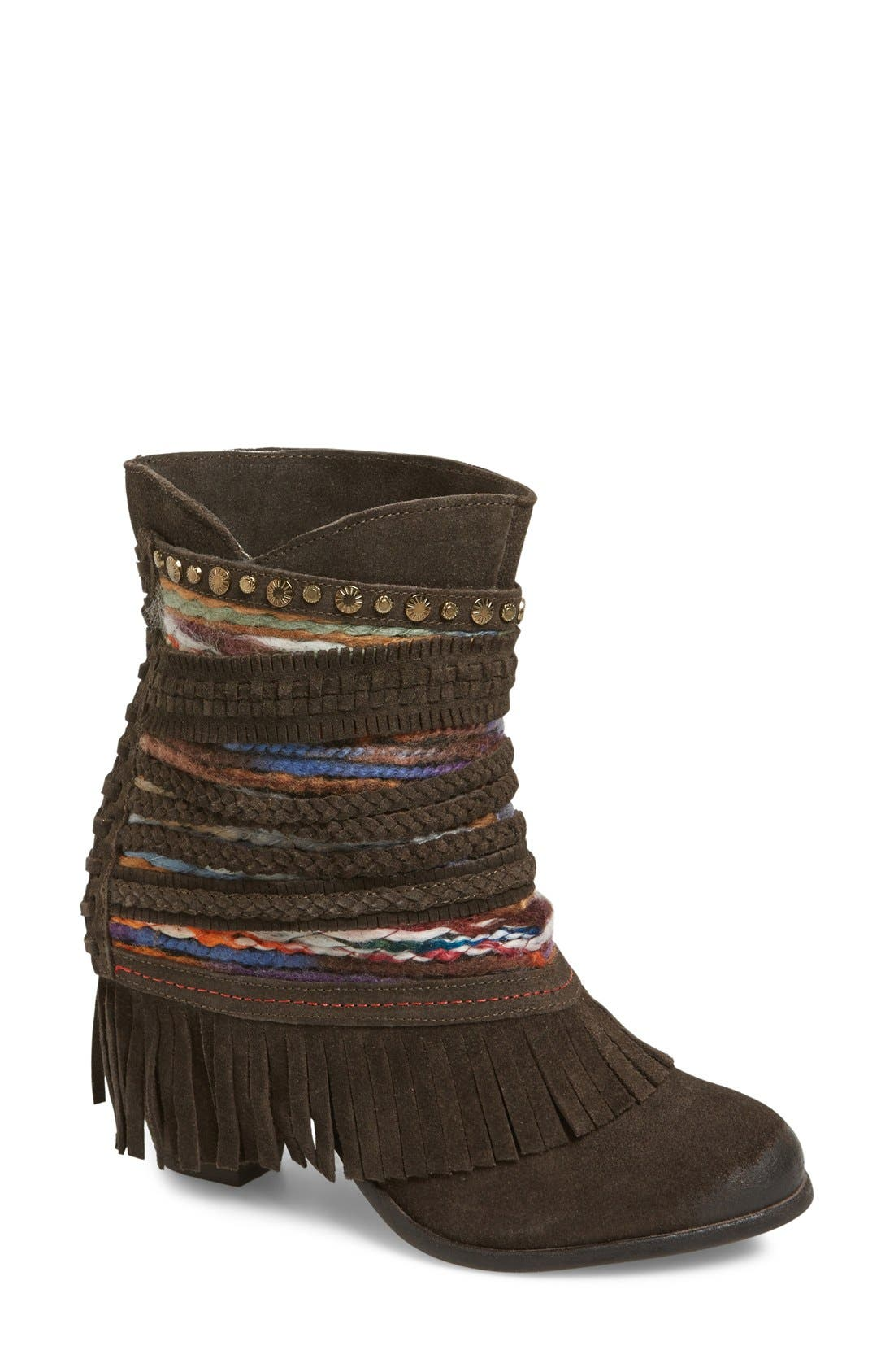 Alternate Image 1 Selected - Naughty Monkey 'Poncho' Boot (Women)