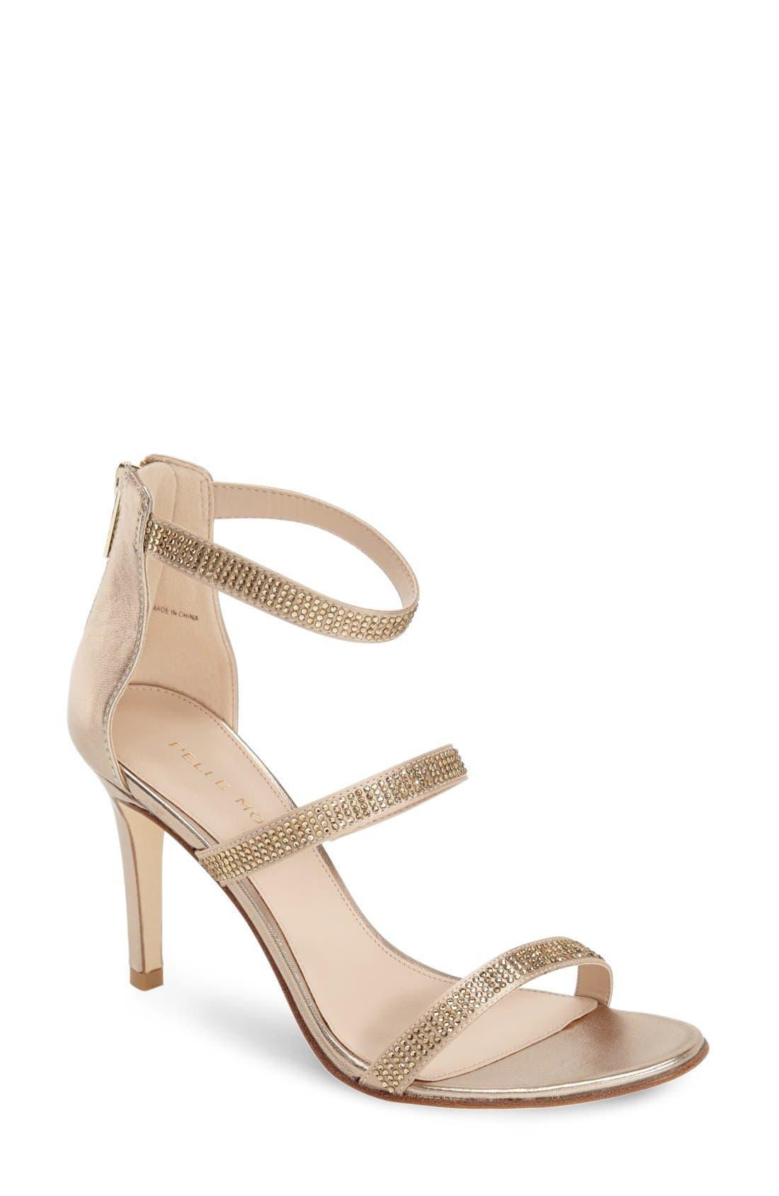 Pelle Moda 'Dalia' Three Strap Sandal (Women)