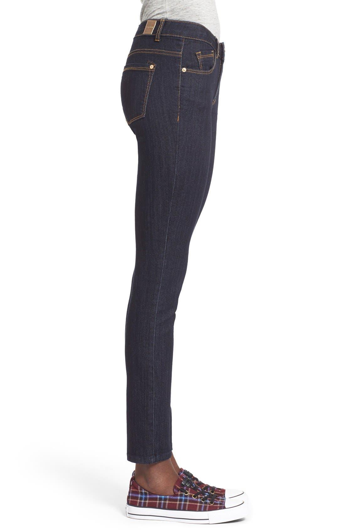 Alternate Image 3  - Jolt Skinny Jeans (Indigo)