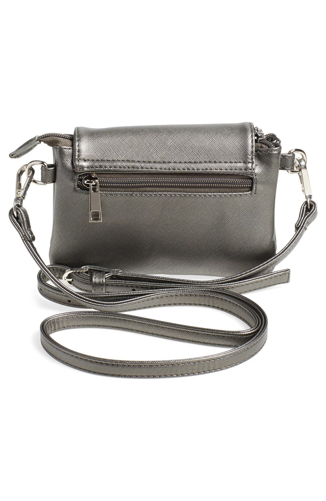 Alternate Image 4  - Catherine Catherine Malandrino 'Mini Clara' Crossbody Bag