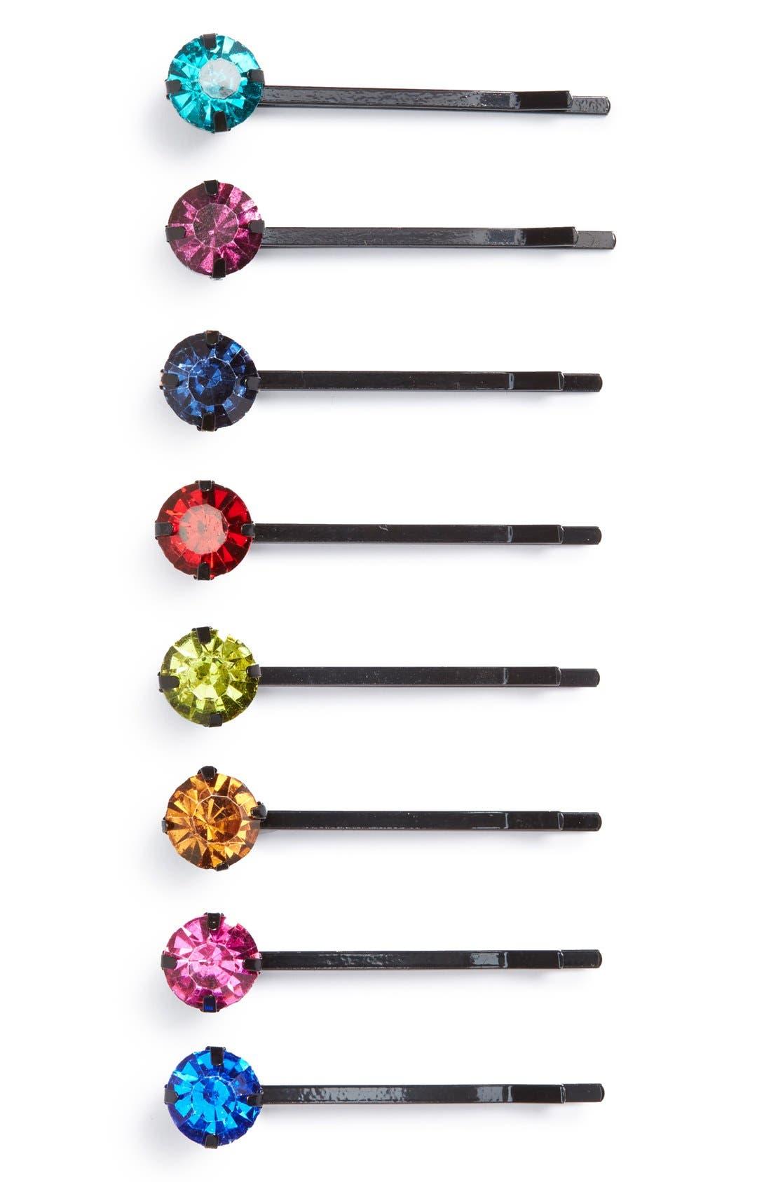 Cara 'Rainbow' Bobby Pins (8-Pack)