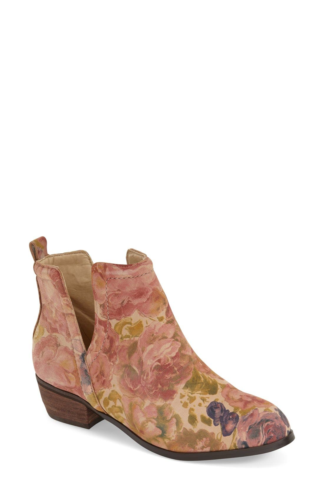 Alternate Image 1 Selected - Sbicca 'Rosette' Cutout Bootie (Women)