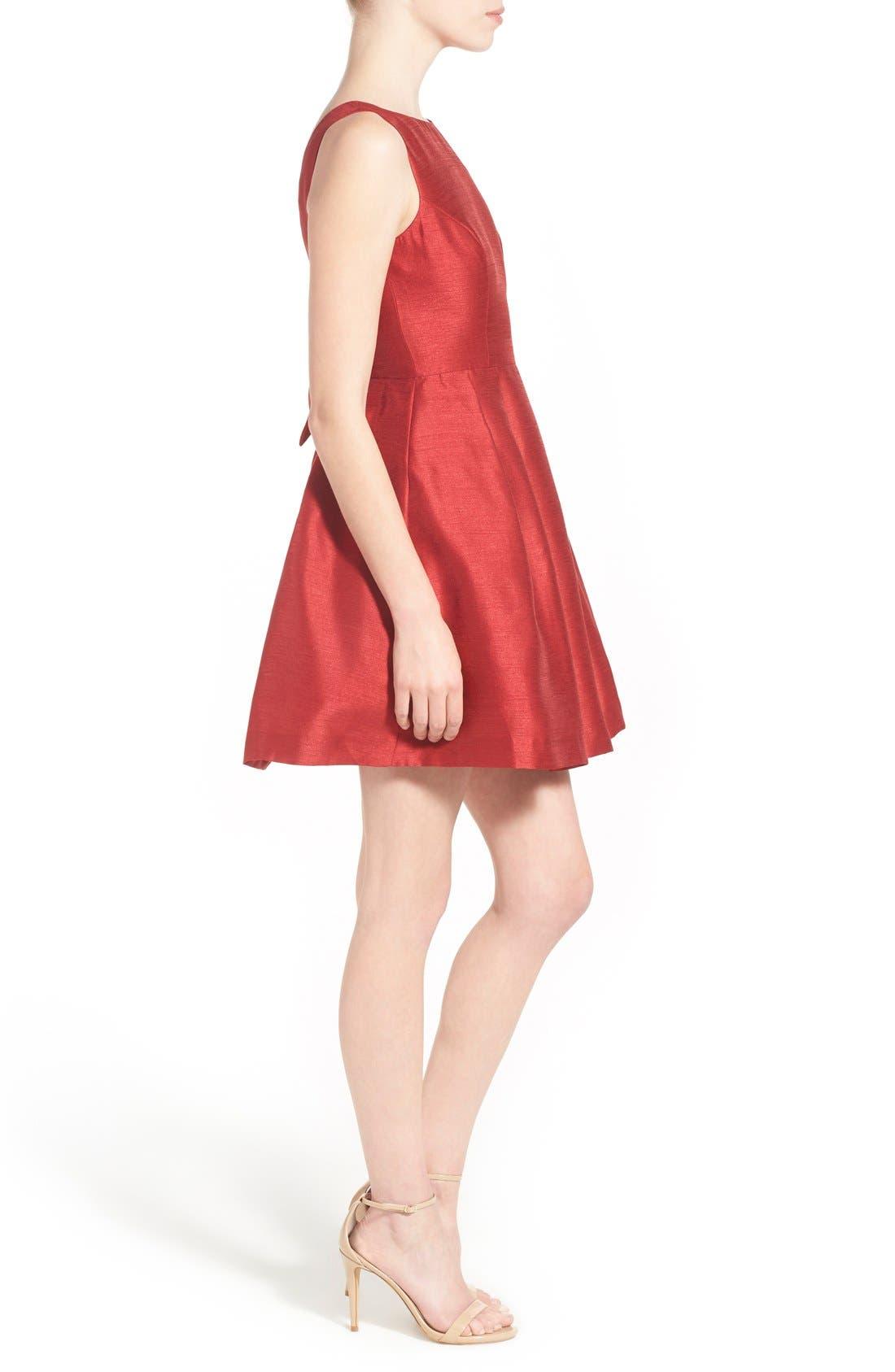 Alternate Image 3  - Soprano Bow Back Fit & Flare Dress