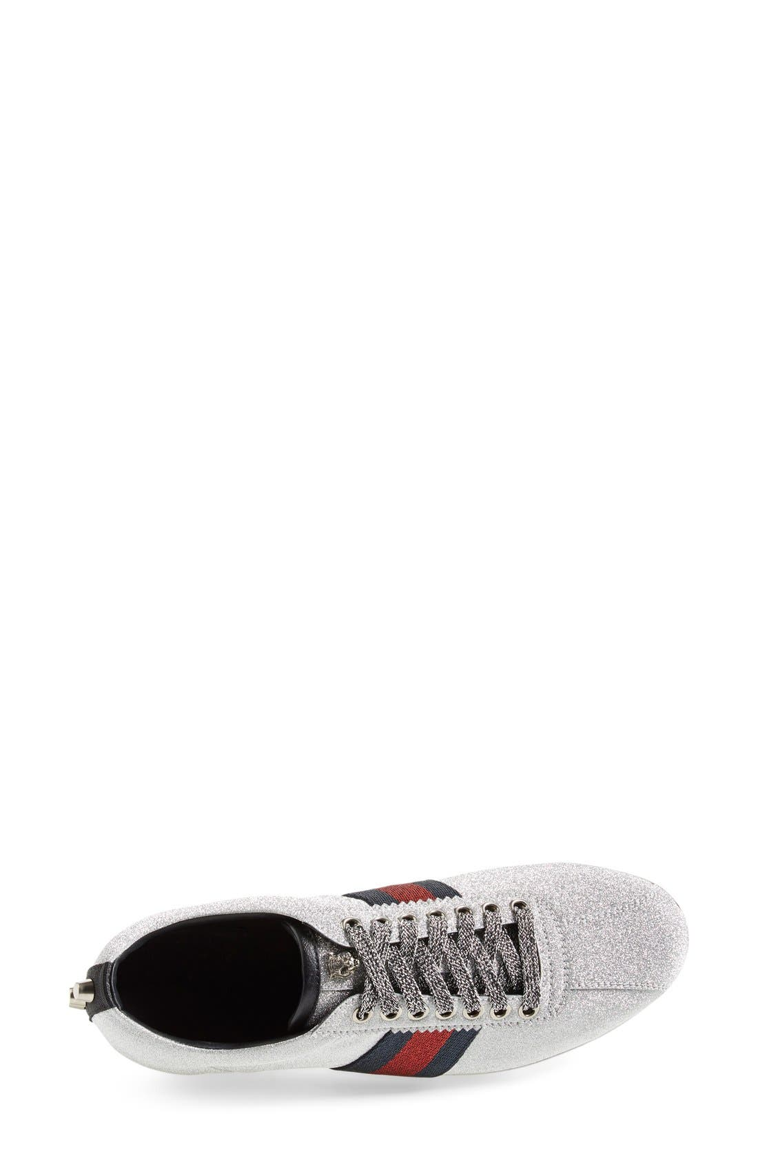 Alternate Image 3  - Gucci Lace-Up Sneaker (Women)