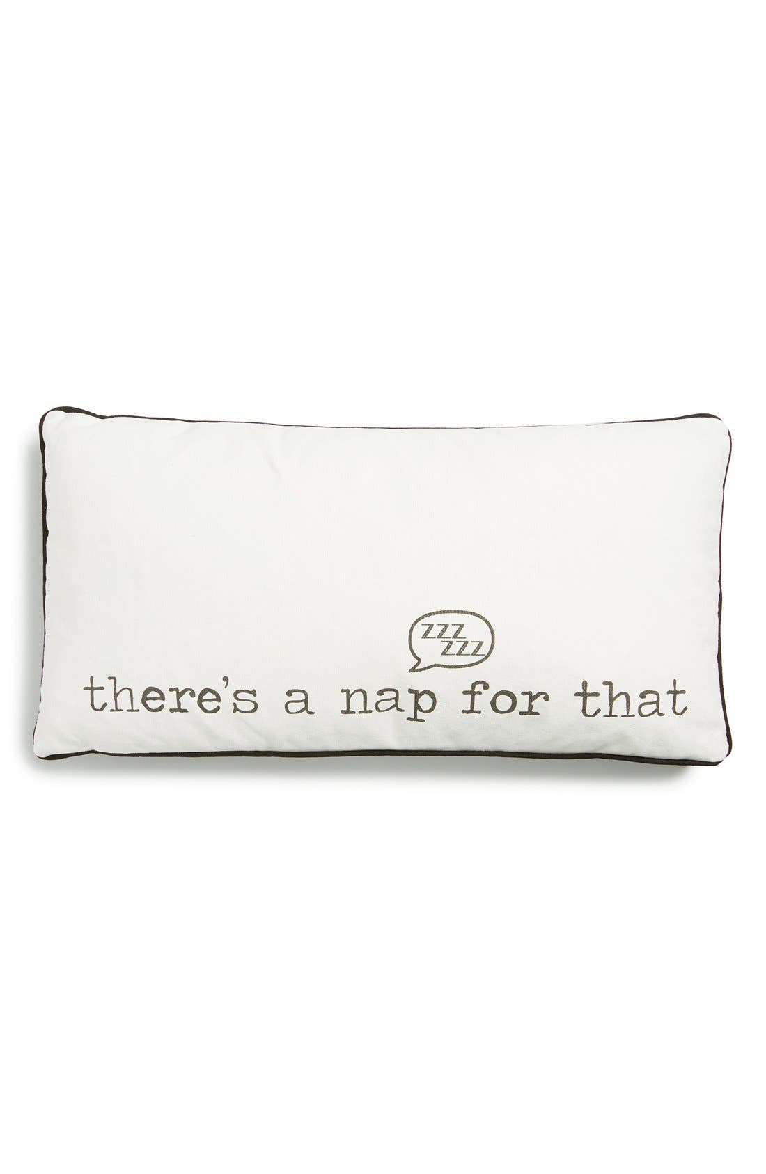 Main Image - Levtex 'There's a Nap for That' Pillow